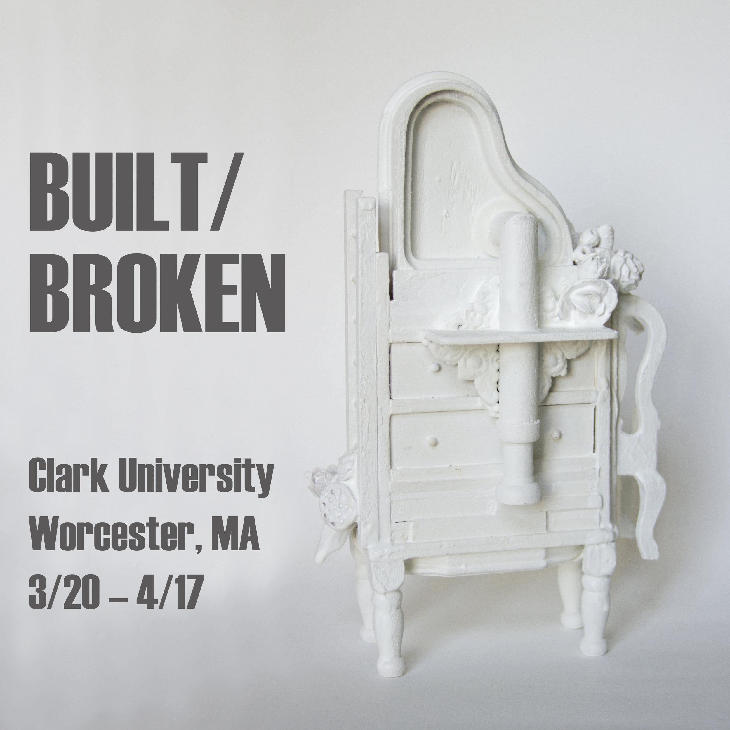 """Flight of Fancy , sculpture by Chelsea Revelle in """"Built/Broken"""" exhibit"""