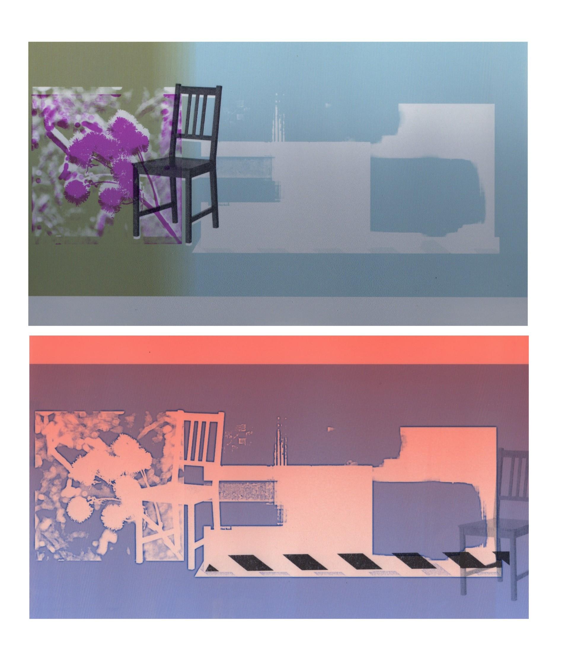 Sitting Room (diptych)