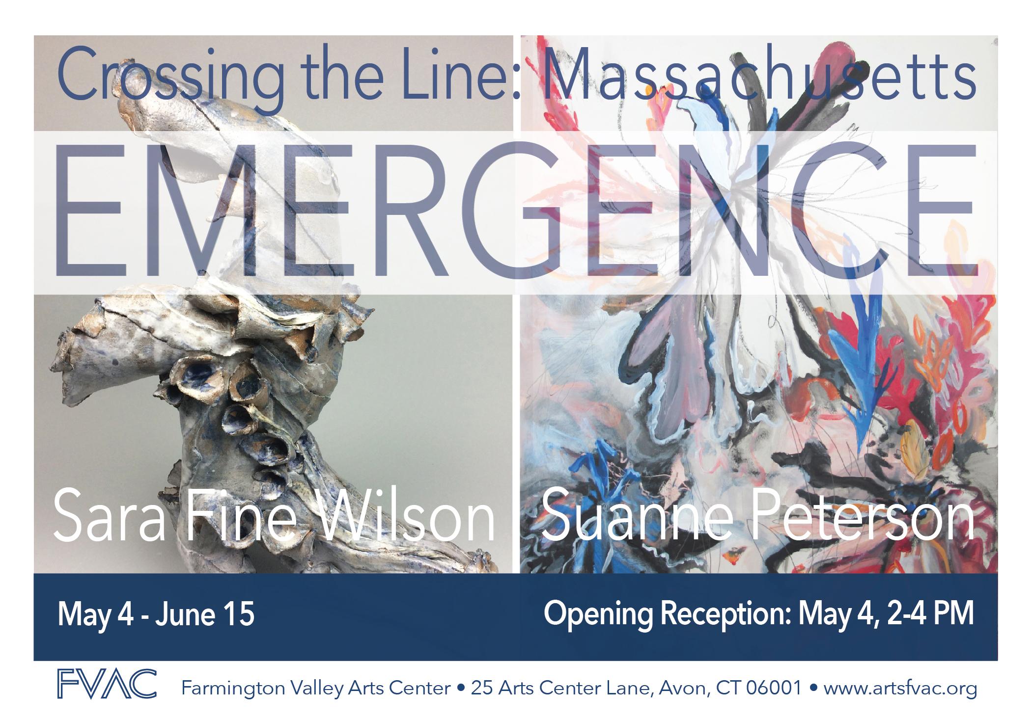 """Work by Sara Fine Wilson in """"Emergence"""" exhibit"""