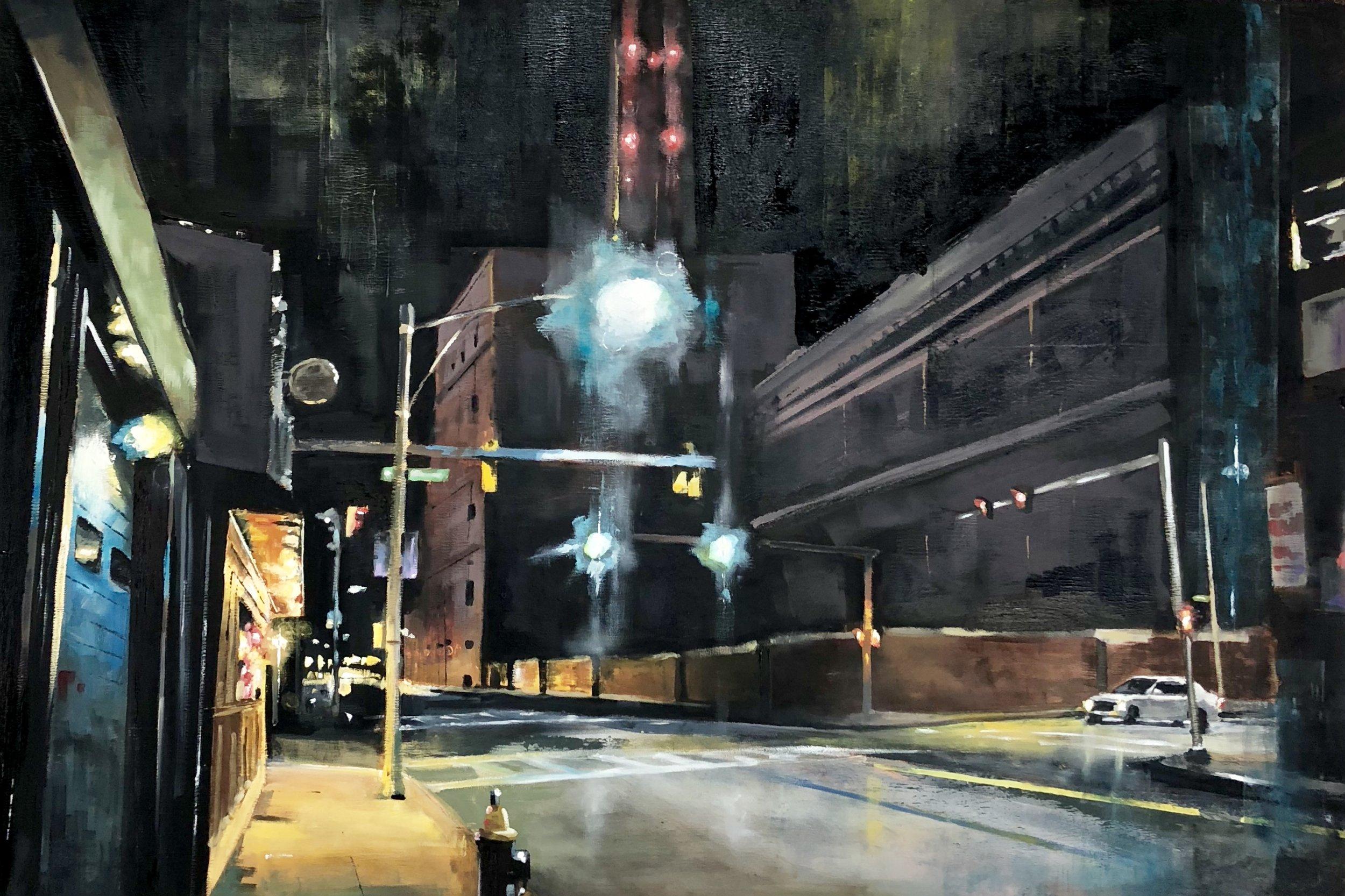 Murphy's , painting by Chris Plunkett