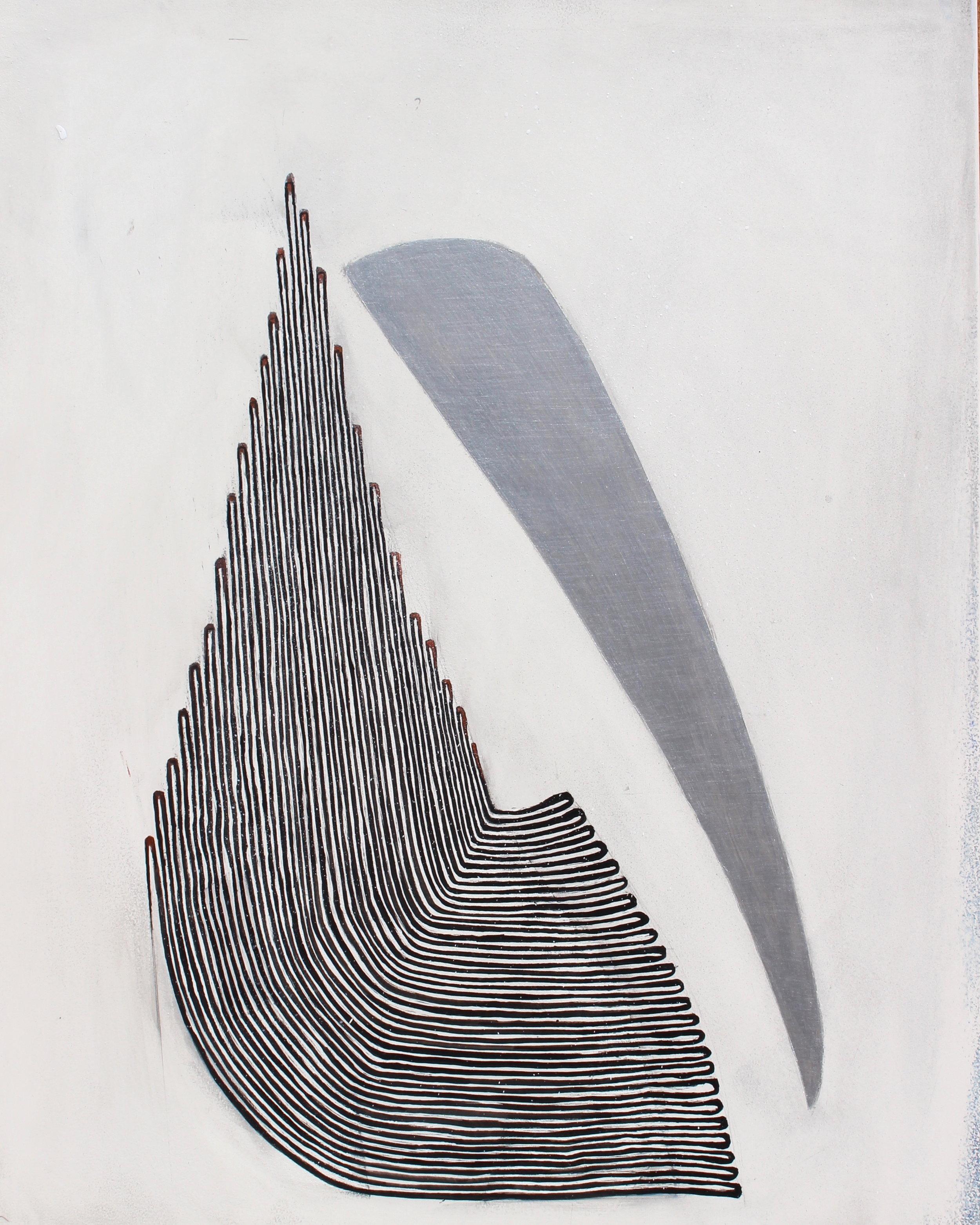 Joel Moskowitz,  Body and Soul , Acrylic on wood panel, 20x16