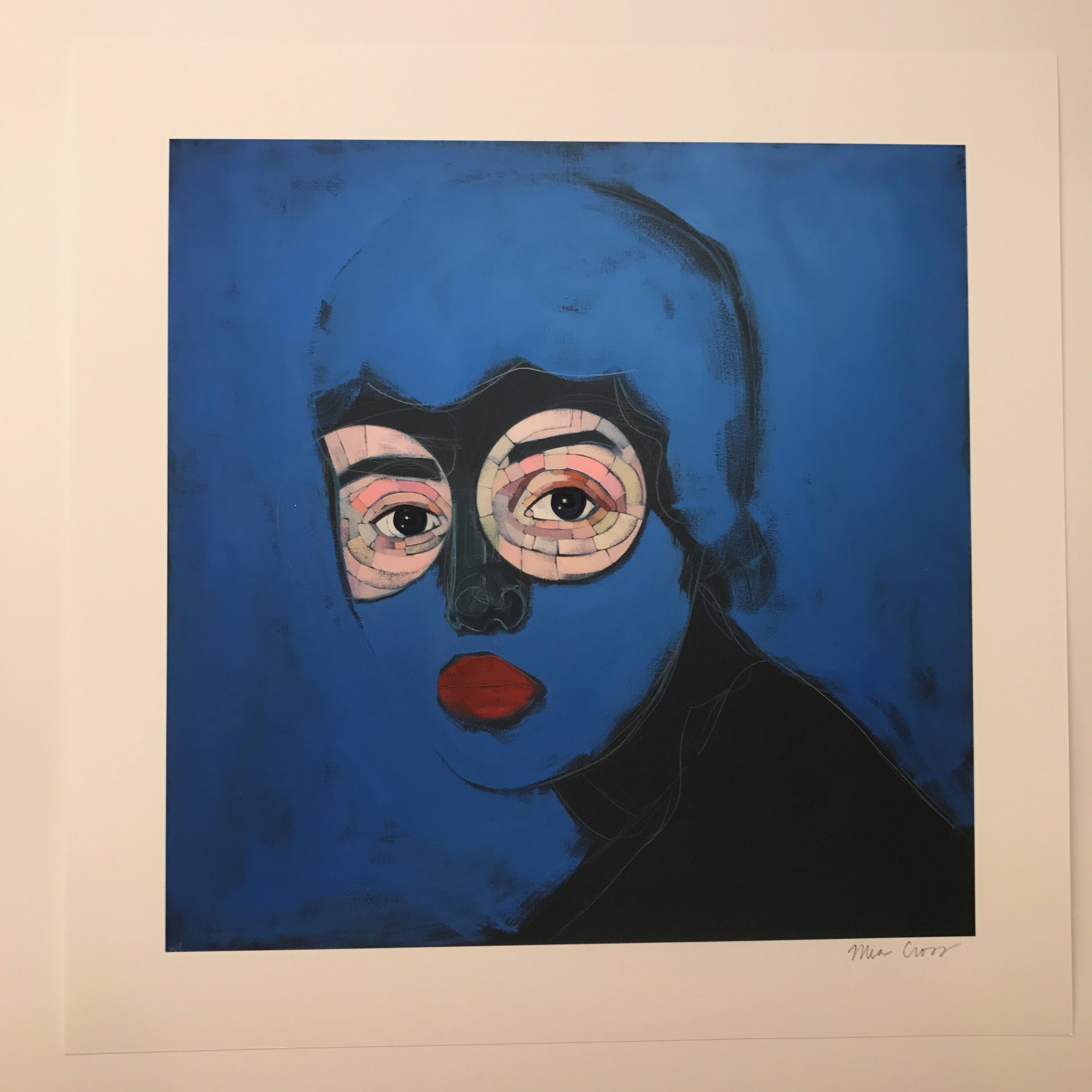 Blue baby  by Mia Cross