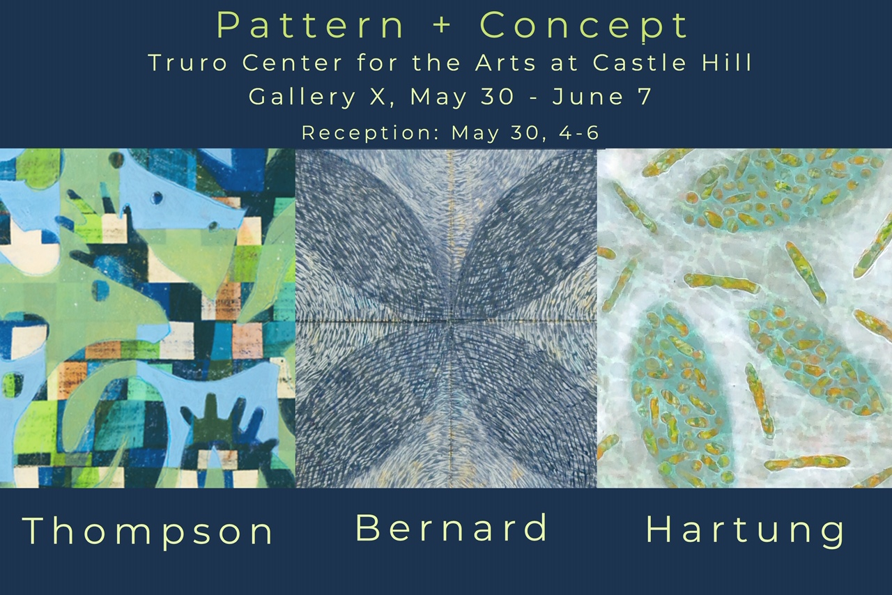 Pattern + Concept   show with work by Kay Hartung
