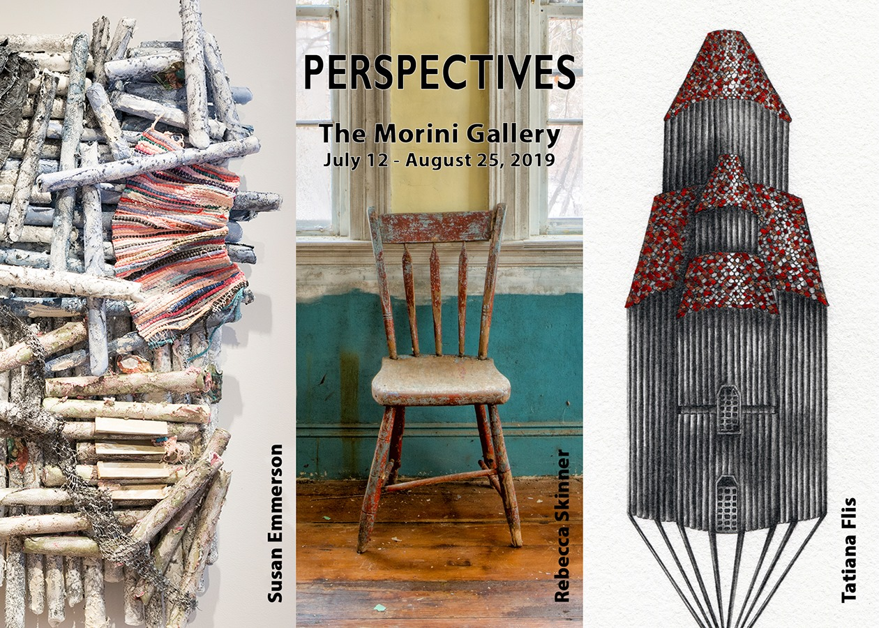 """""""Perspectives,"""" group exhibition featuring Tatiana Flis, Rebecca Skinner, and Susan Emmerson"""