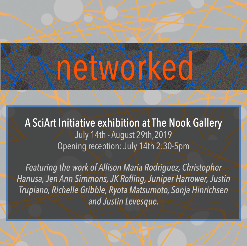 """""""Networked,"""" group exhibition with Allison Maria Rodriguez"""