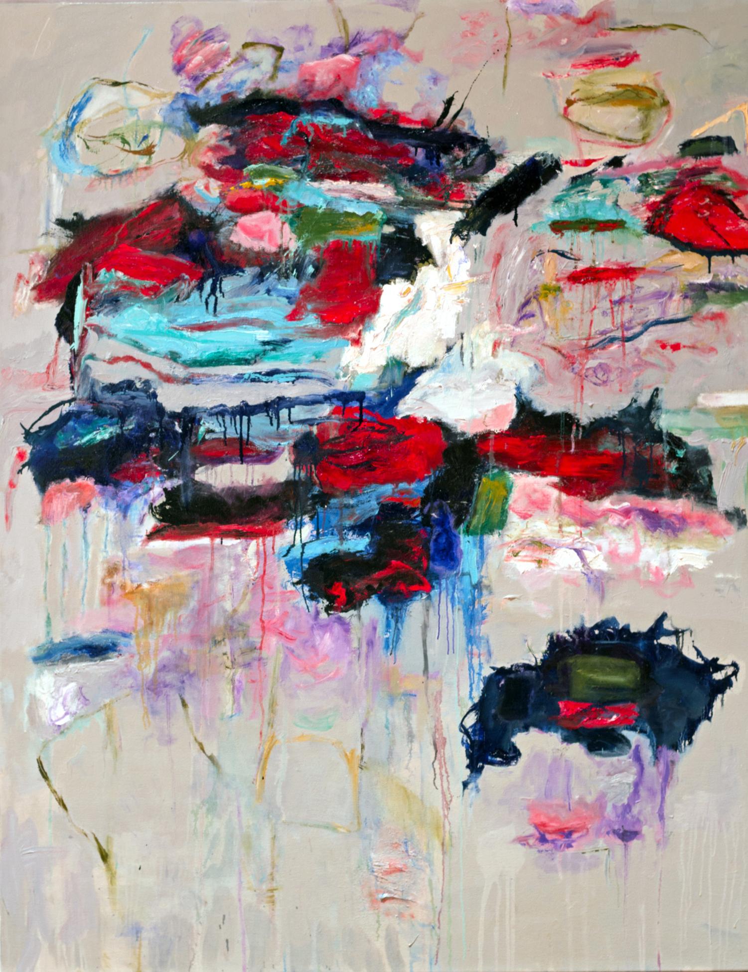 Katherine Borkowski-Byrne,  Tall Tale , Oil on canvas, 60x48