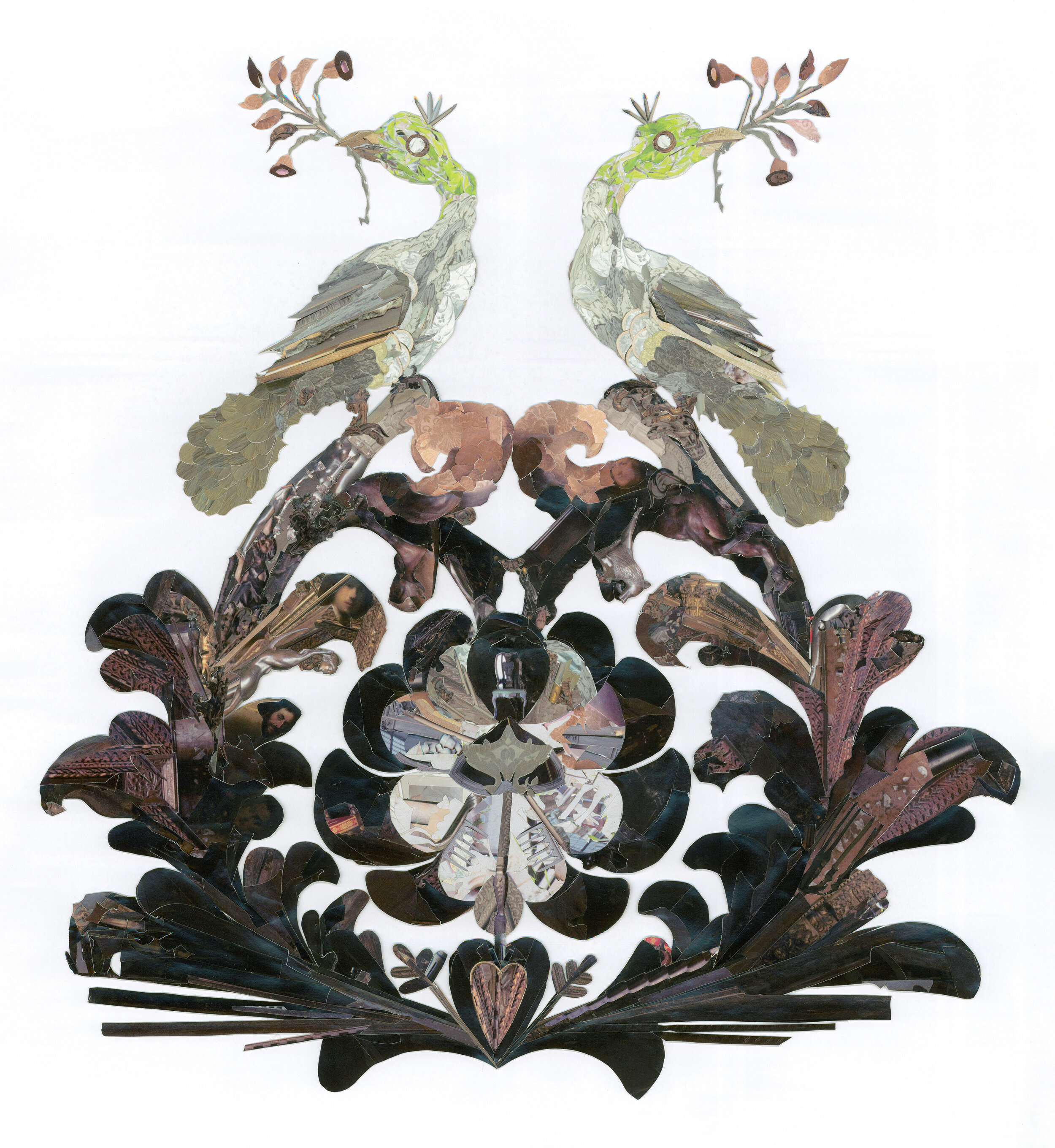 Elizabeth Alexander,  Rearranging the Gardner: The Dutch Room, Birds