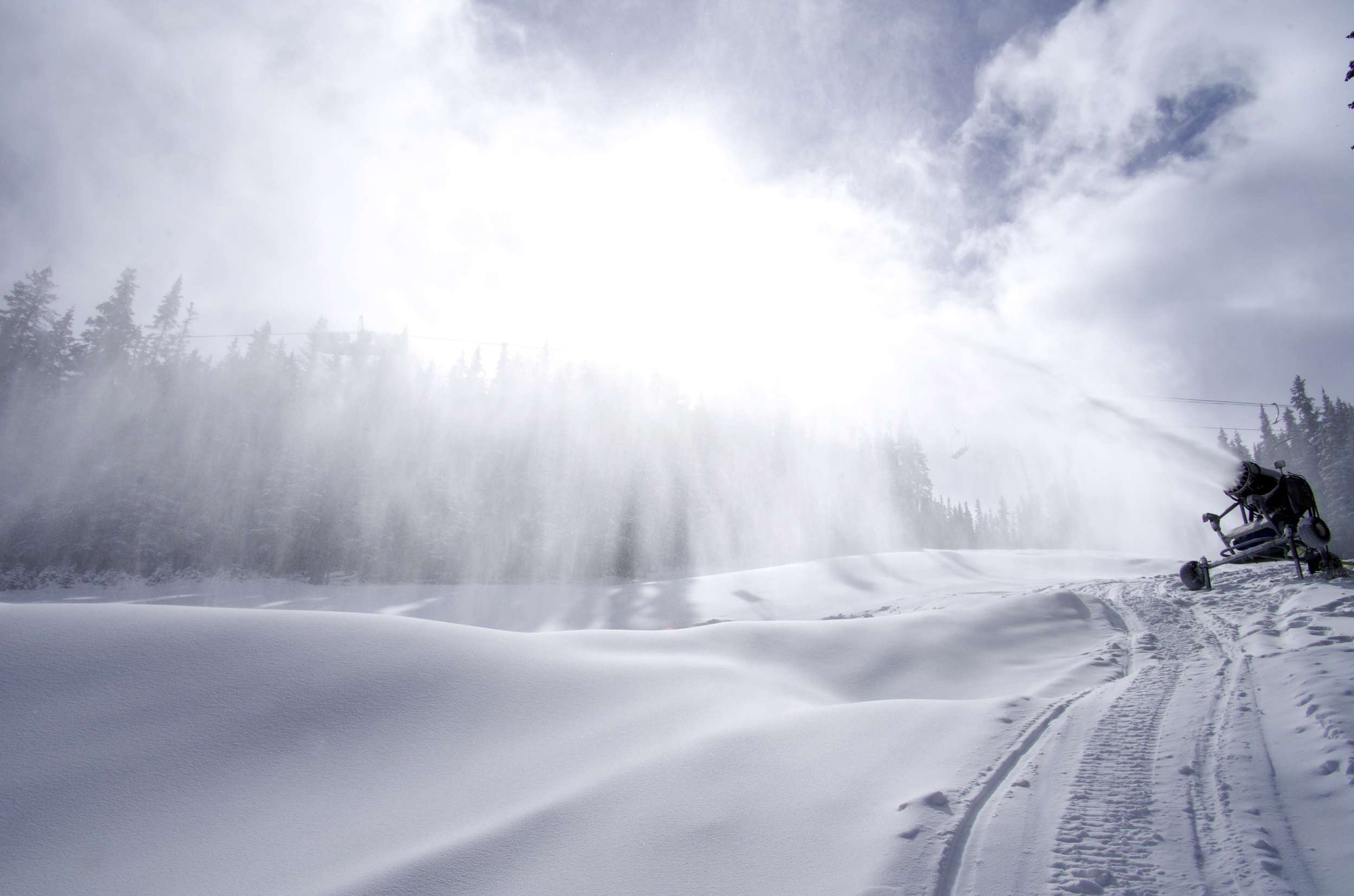 Snowmaking for the 13/14 season P: Dustin Schaefer courtesy of Loveland Ski Area