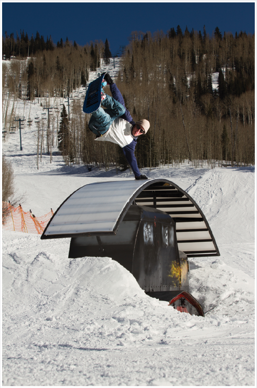 R: Josh Bishop P: Jeff Brockmeyer L: Powderhorn Mountain Resort (from  V4.3 )
