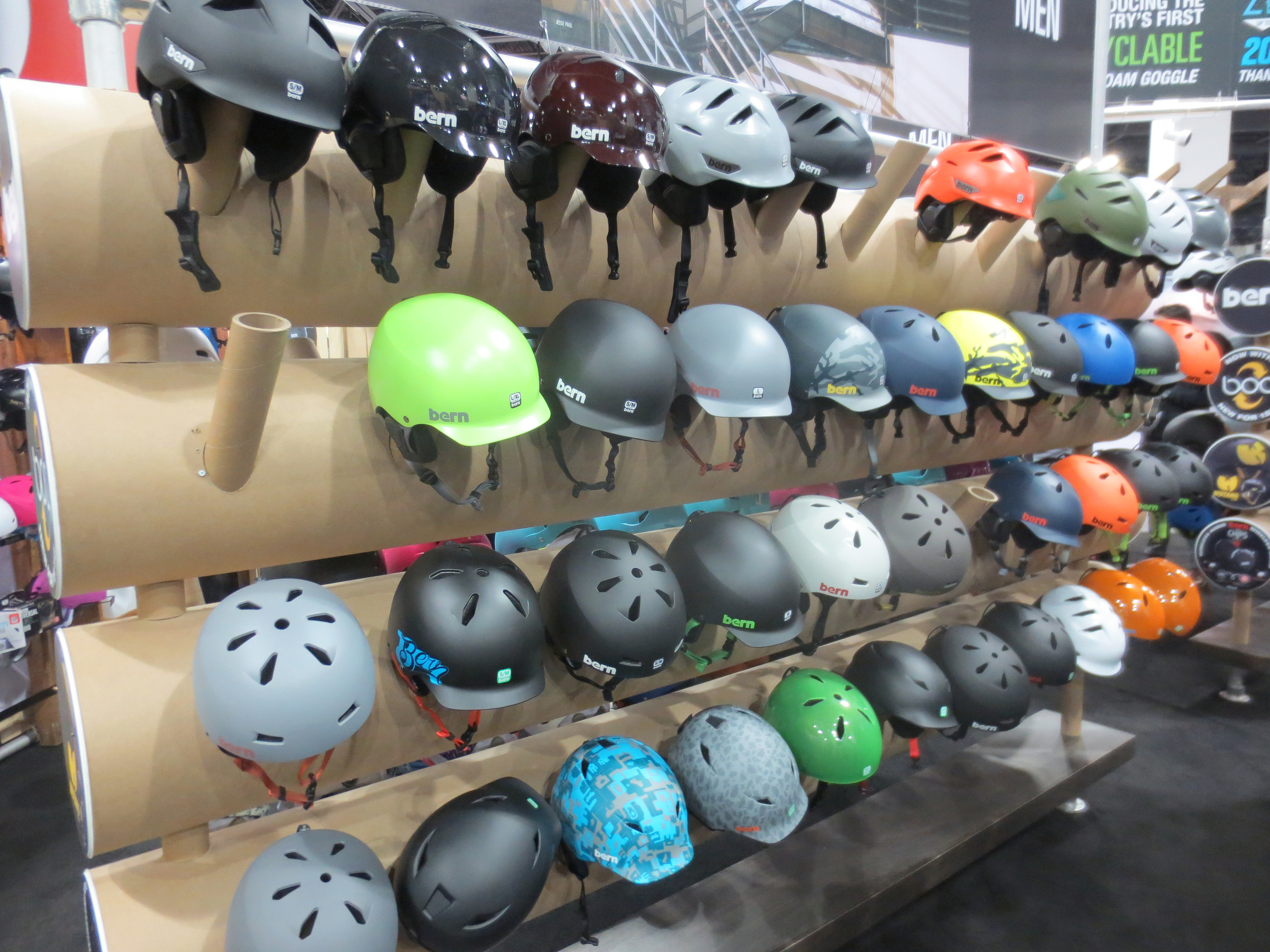 Bern has more helmet options than you can shake a stick at.