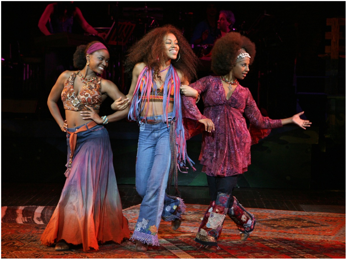 "Broadway Cast Saycon Sengbloh, Sasha Allen and Nicole Lewis sing ""White Boys"""