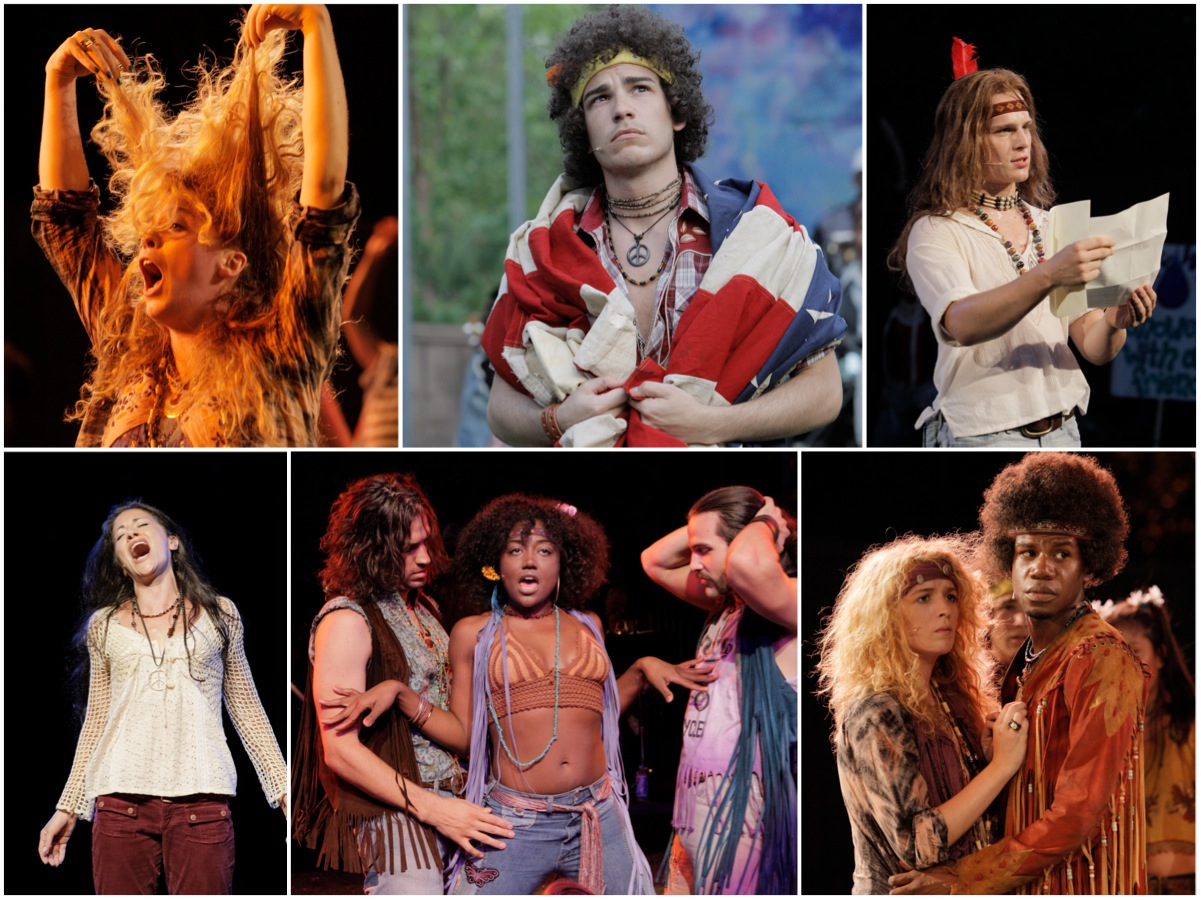 NY Shakespeare Festival production of HAIR at the Delecorte Theatre in Central Park