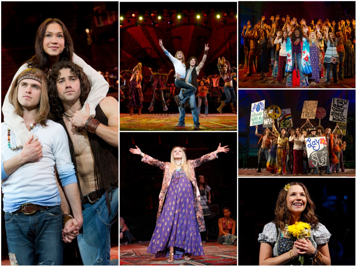 Second Broadway Cast starring Ace Young, Dianna Digarmo, Kyle Riabko and Annaleigh Ashford