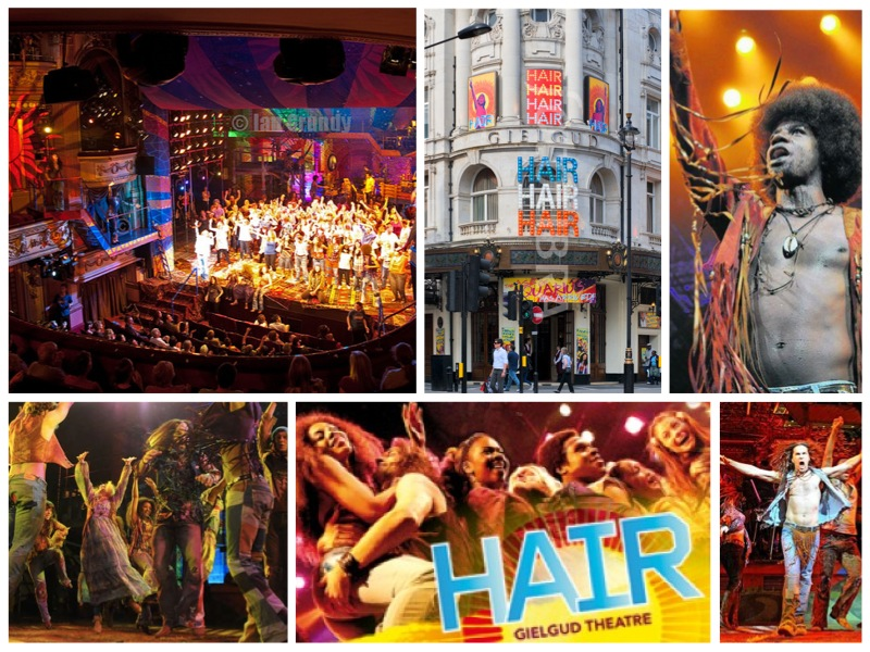 HAIR in London, Gielud Theatre