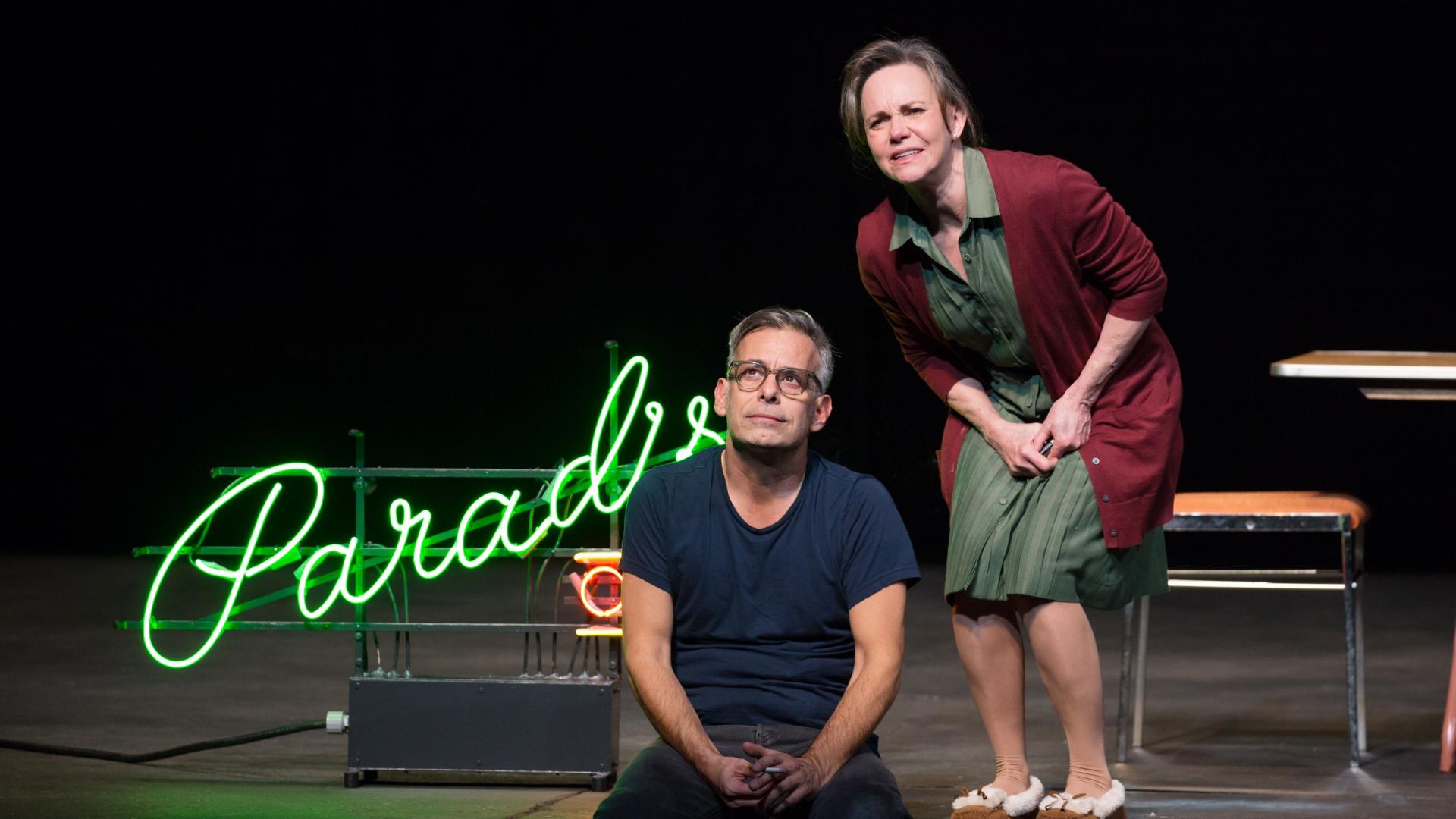 Joe Mantello and Sally Field as Tom and Amanda