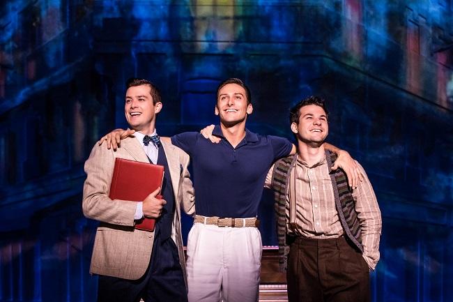 TOUR CAST Nick Spangler as Henri, Garen Scribner as Jerry and Etai Benson as Adam