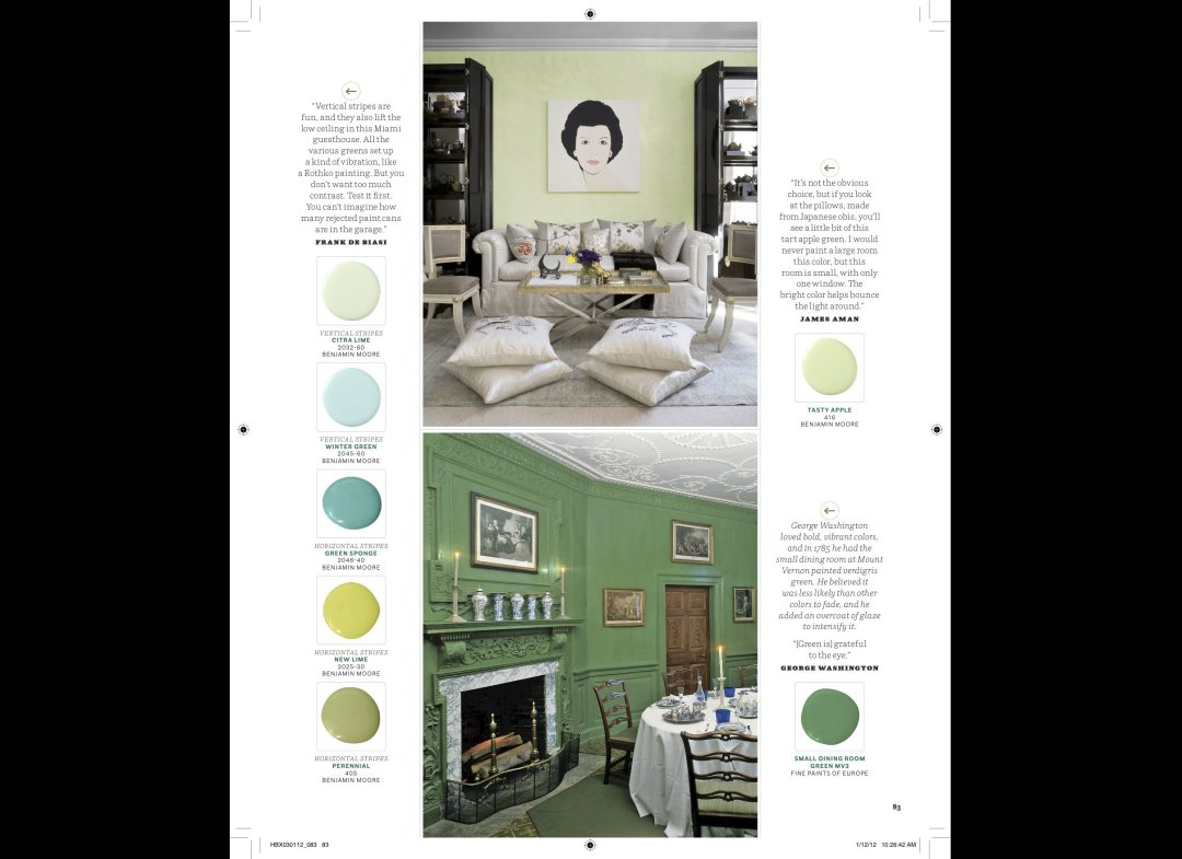 Interiors by James Aman, Photo courtesy of House Beautiful