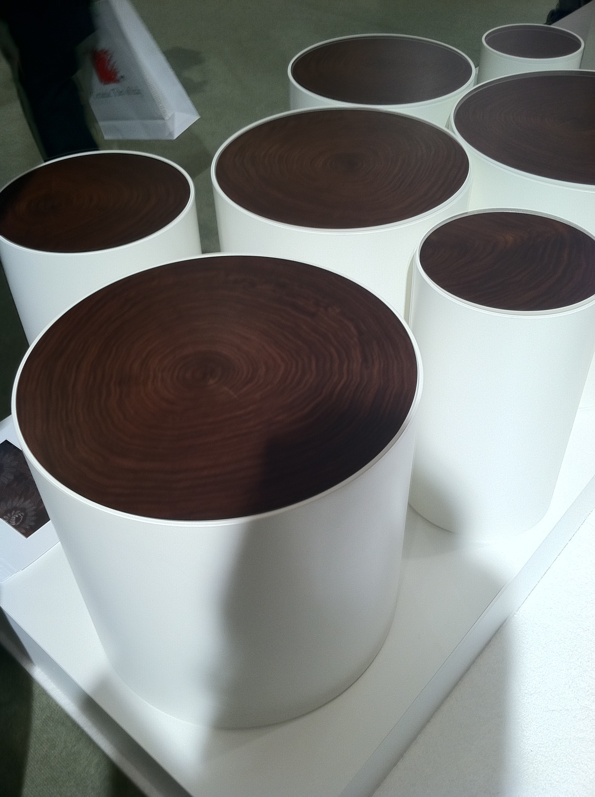 lacquered stumps