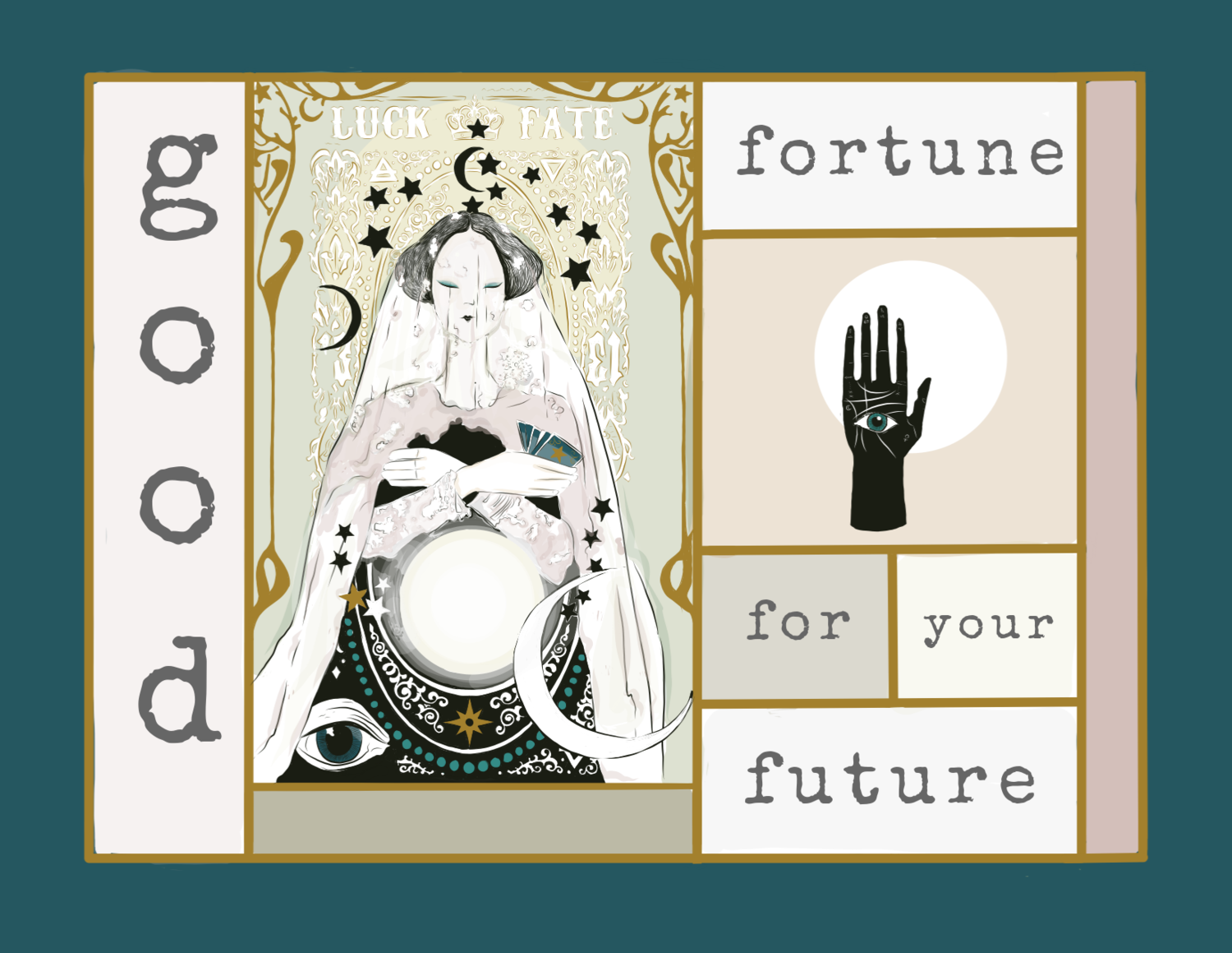 Good fortune for your future - Congratulations Card — Newfolk&Cabin