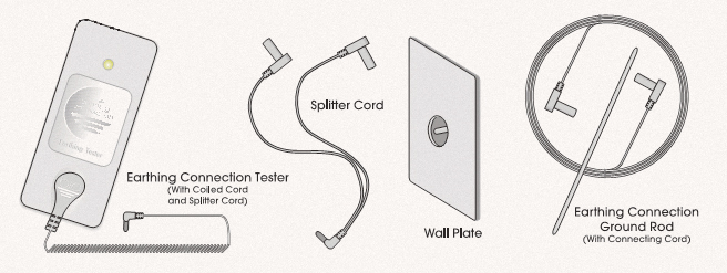How to use Earthing tester, cords, and rod