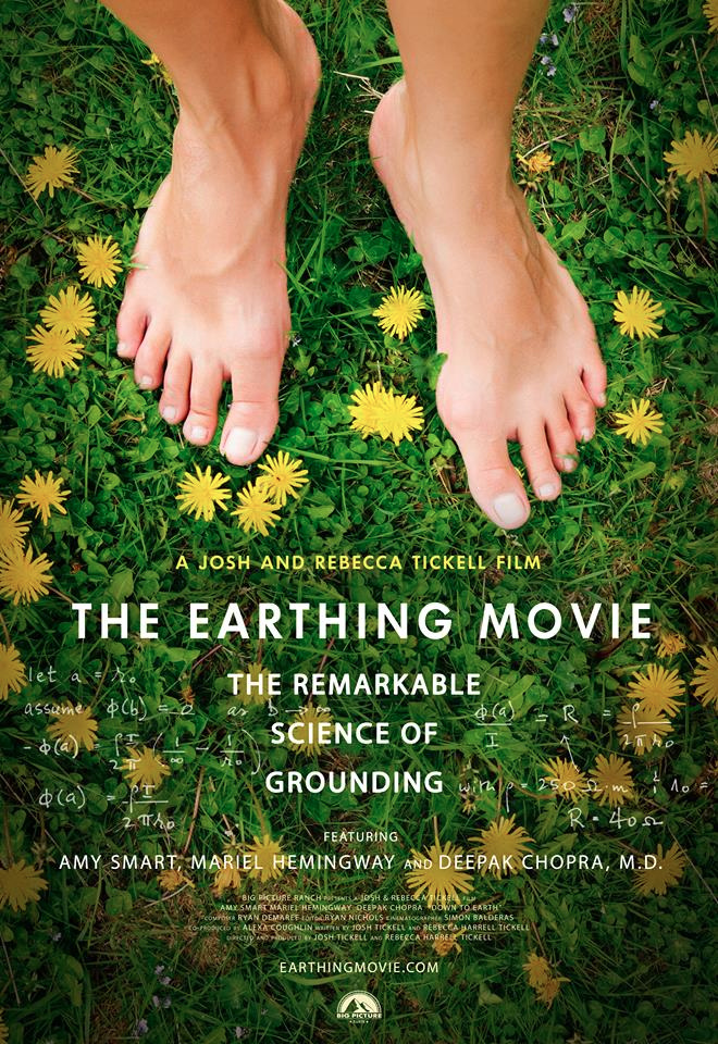 "Could Grounding be headed to Hollywood? Filmmakers Josh and Rebecca Tickell share the powerful benefits of the ground beneath our feet with new film ""The Earthing Movie!"""
