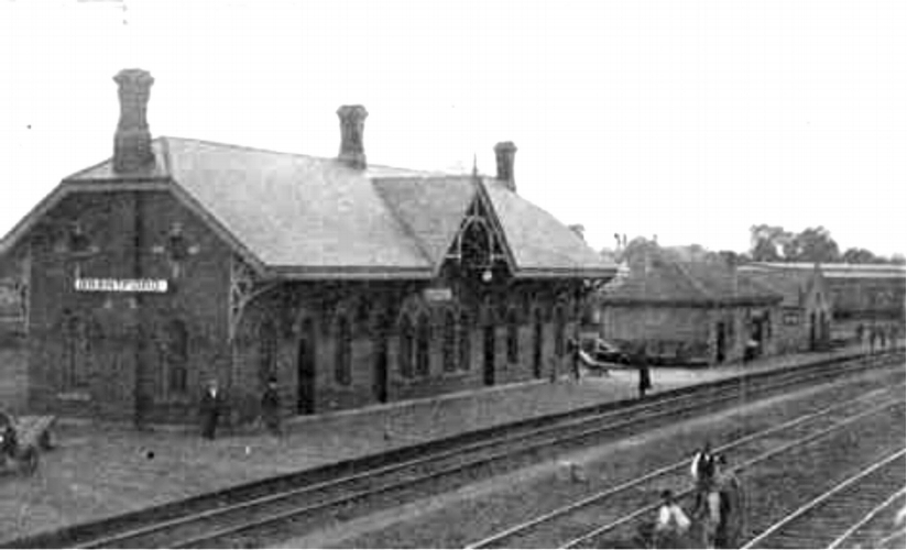 Original Grand Trunk Railway Station