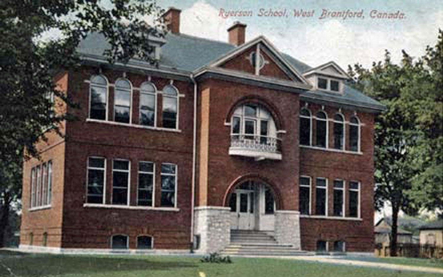 Ryerson School  Image courtesy of the Brant Historical Society