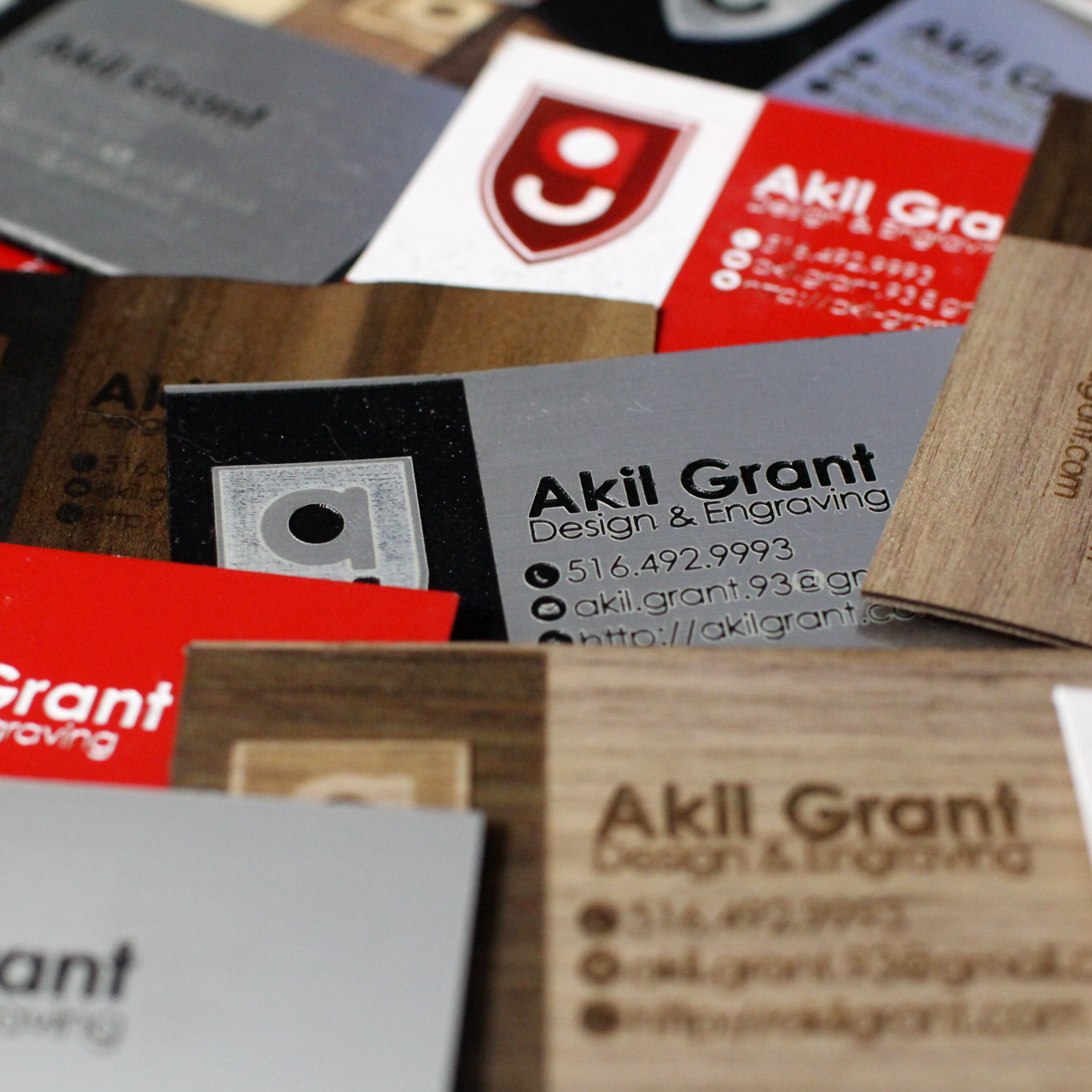 Akil Grant's Branding