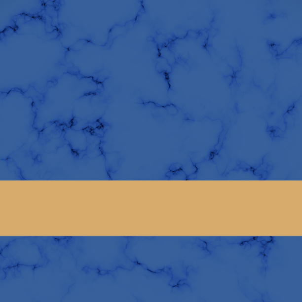 Blue Marble/Gold