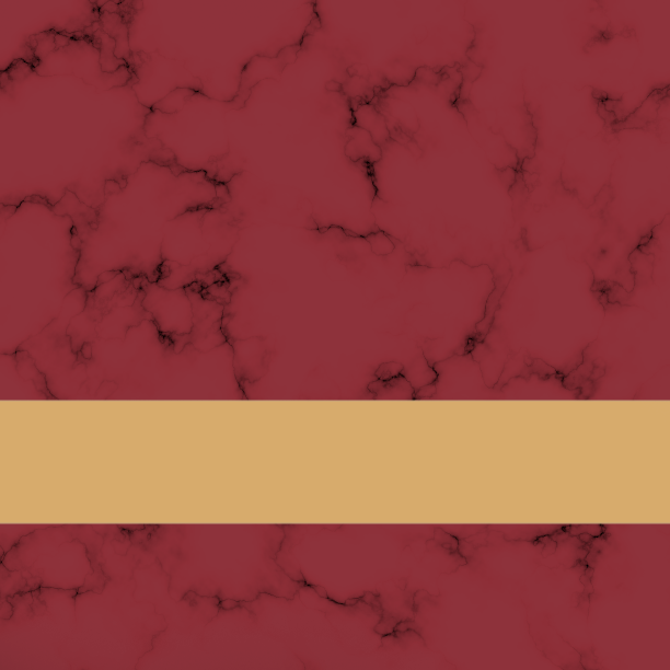 Roman Red Marble/Gold