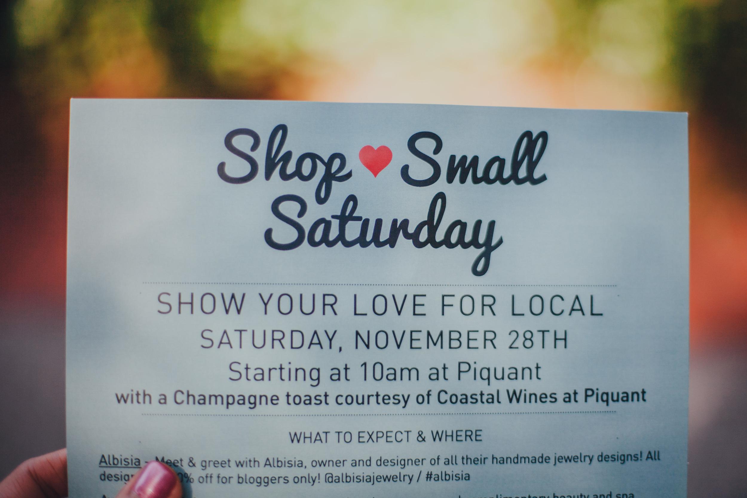 This Jenn Girl - Small Business Saturday 1