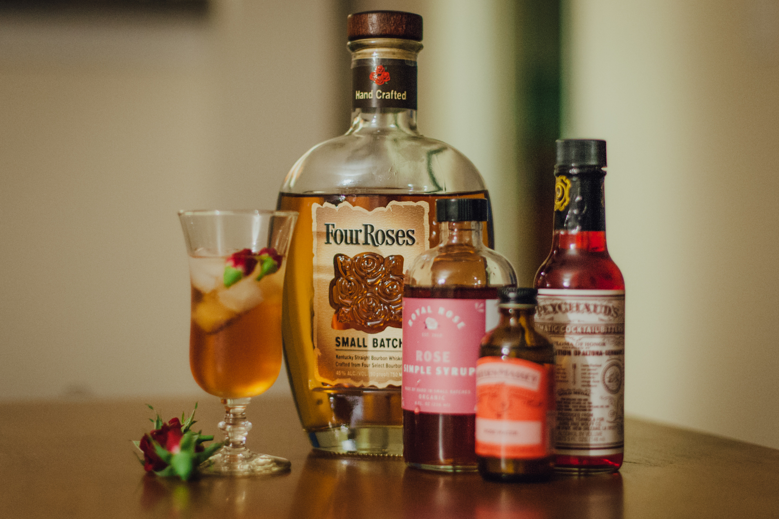 This Jenn Girl - Rosy Old Fashioned with Four Roses Bourbon 1