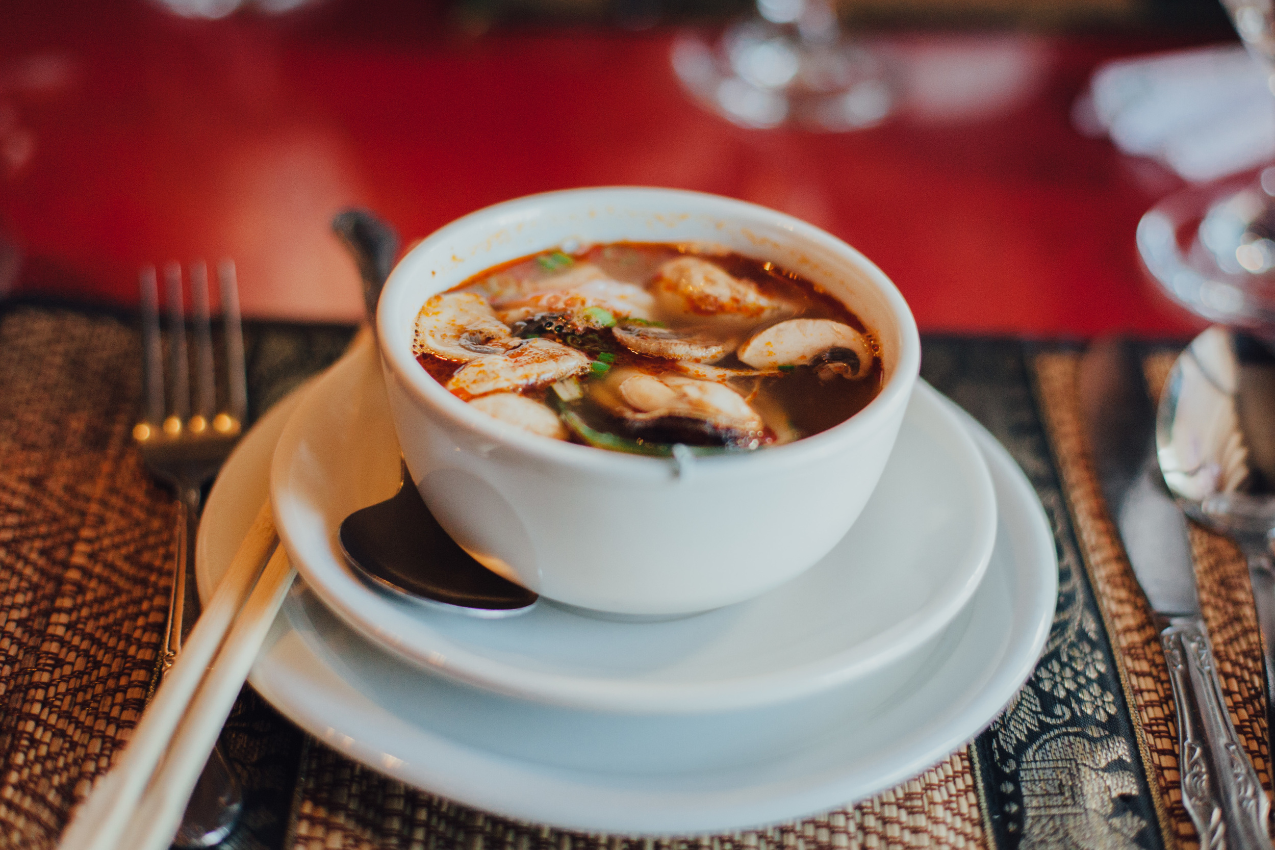 Po Tak (Spicy Seafood Soup)