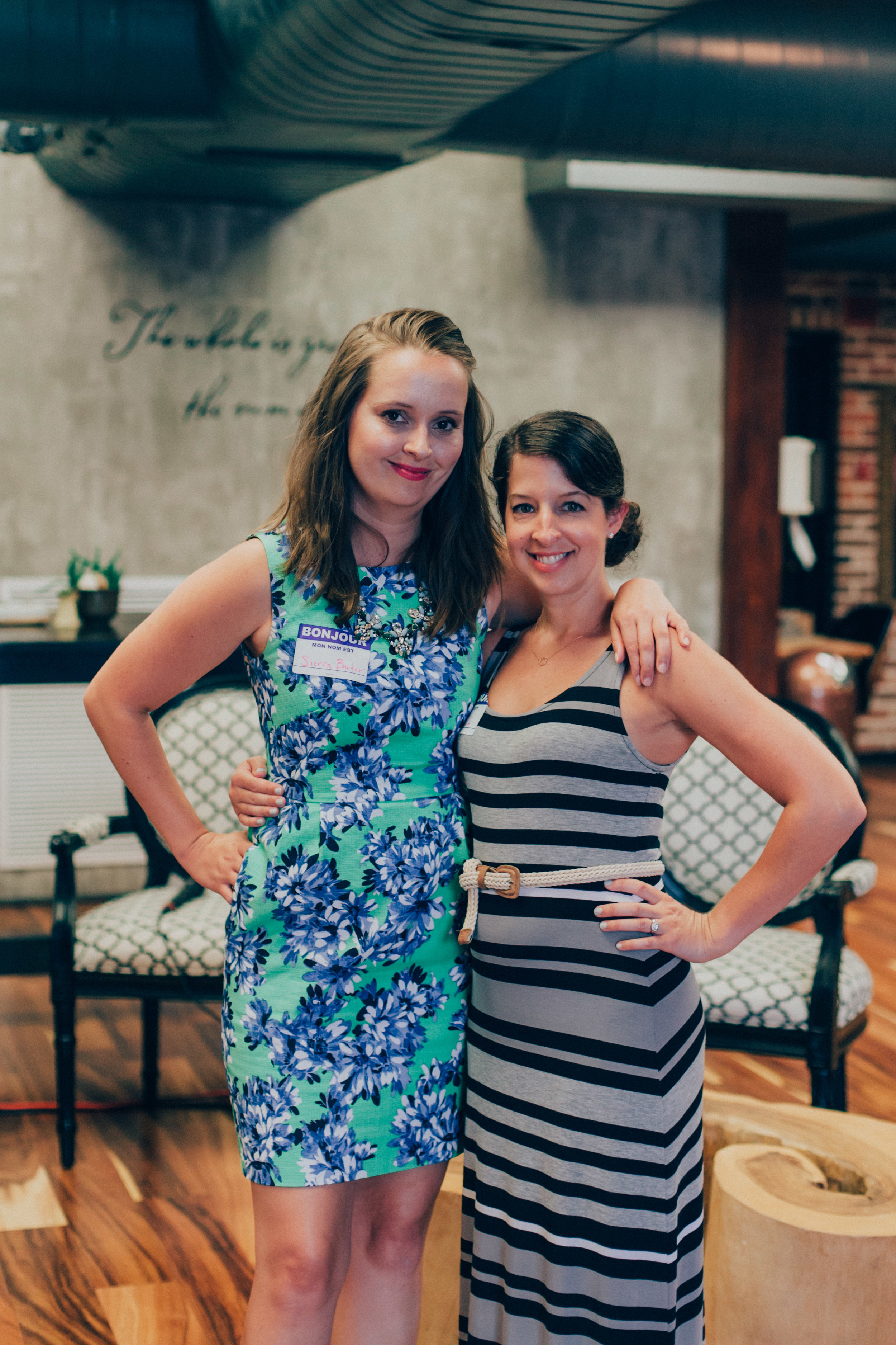 Sierra Barter, CEO & Co-Founder of The Lady Project | Kate Huot, Special Projects Manager at The Lady Project
