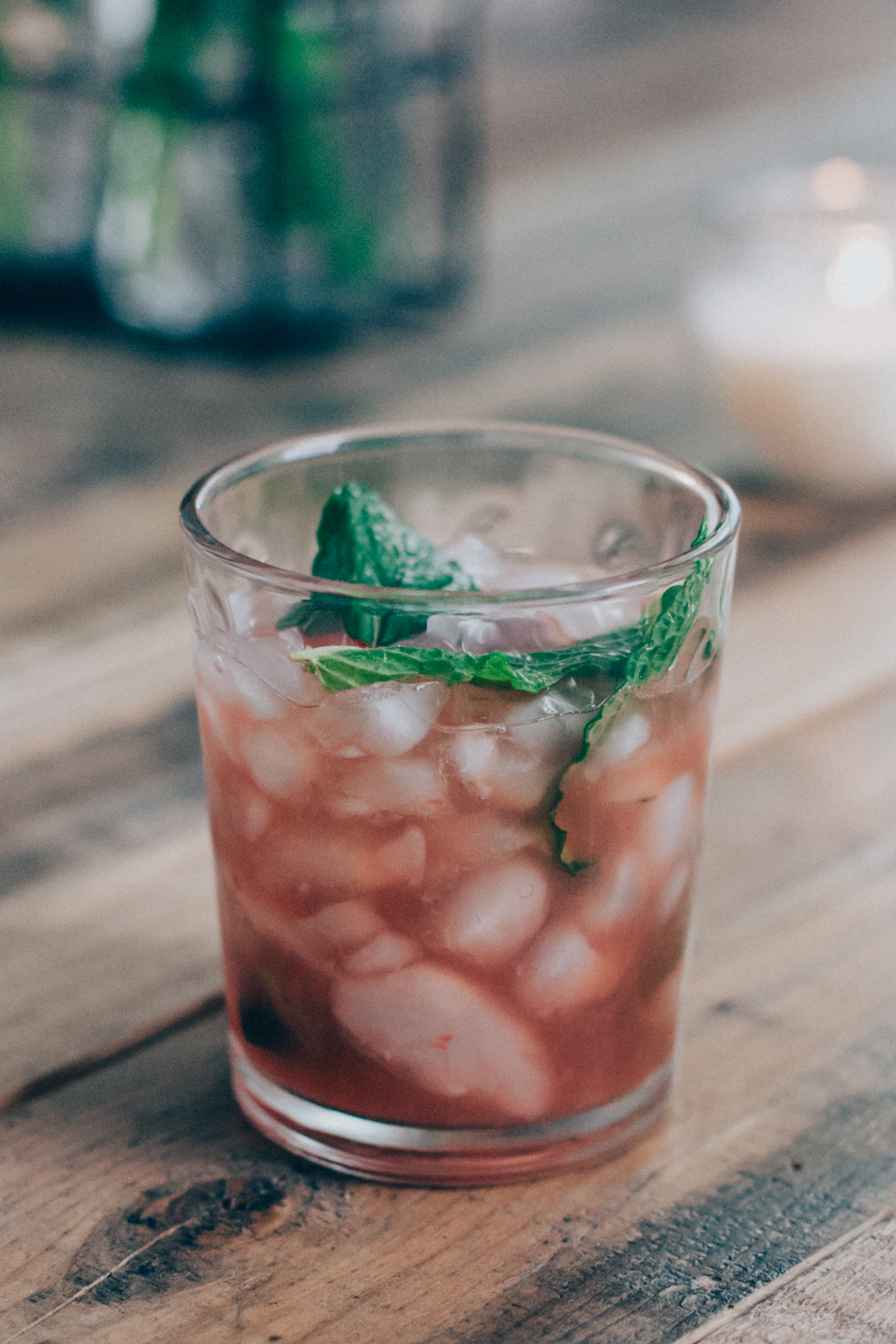 Craft Cocktail of the evening: Rum Swizzle