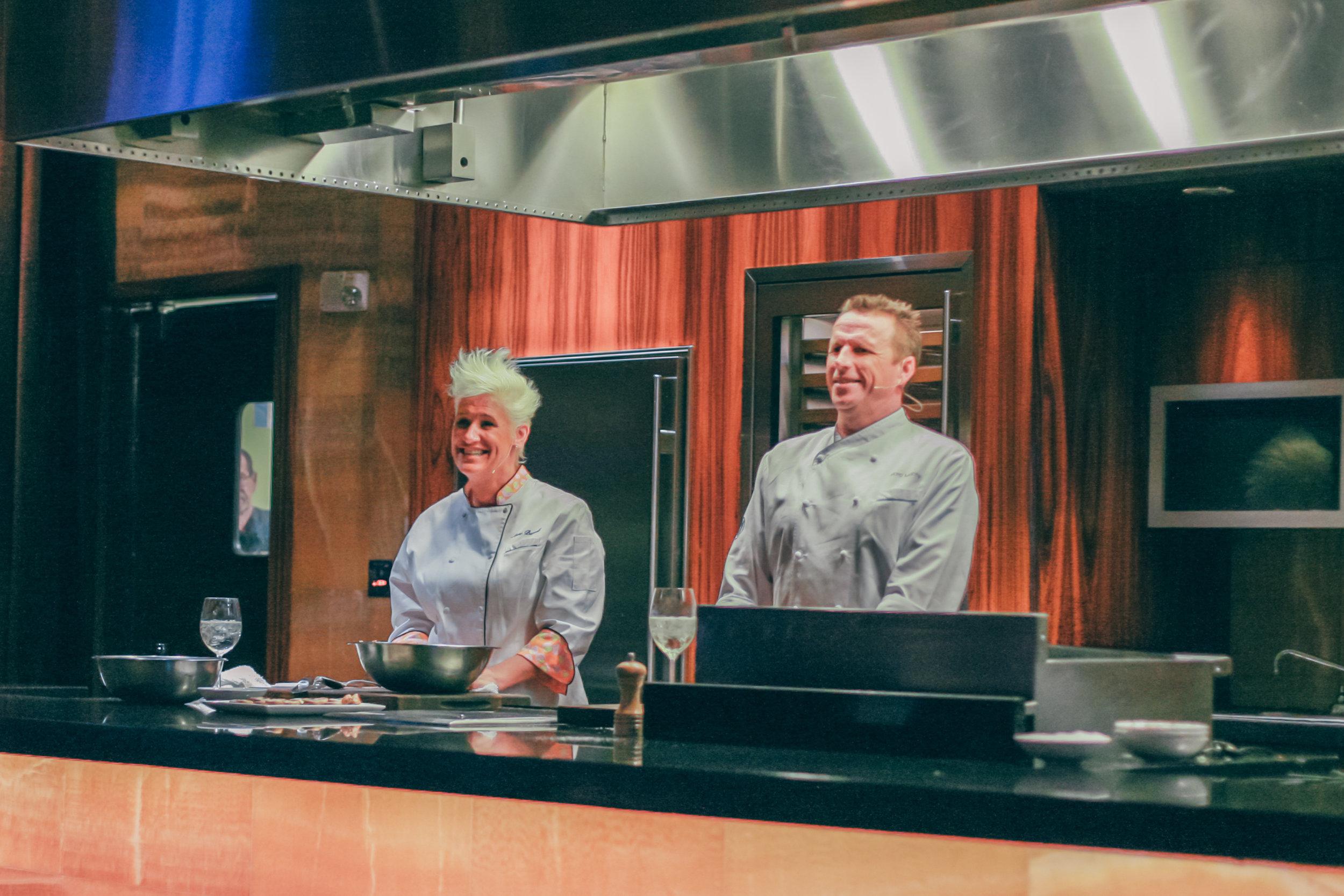 Chef Anne Burrell & Chef Marc Murphy