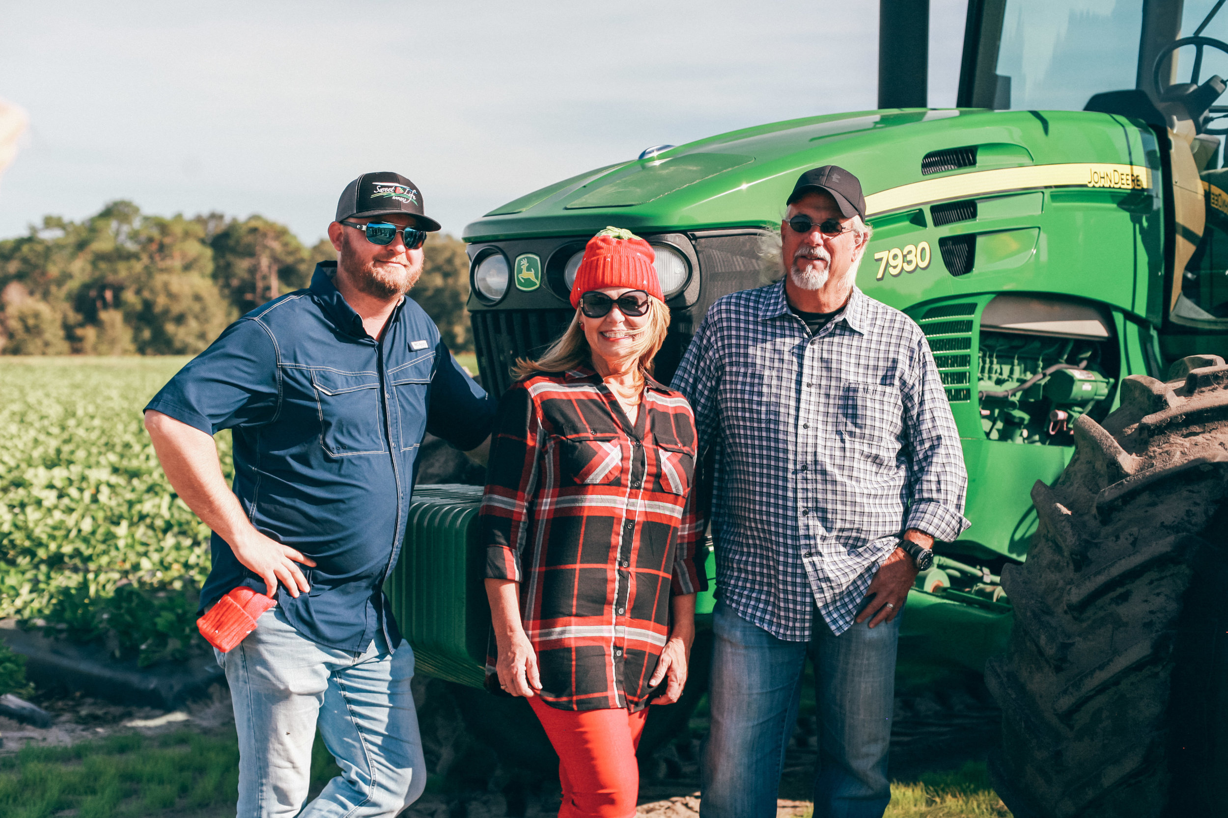 Andy, Strawberry Sue and Mark from the  Florida Strawberry Growers Association .