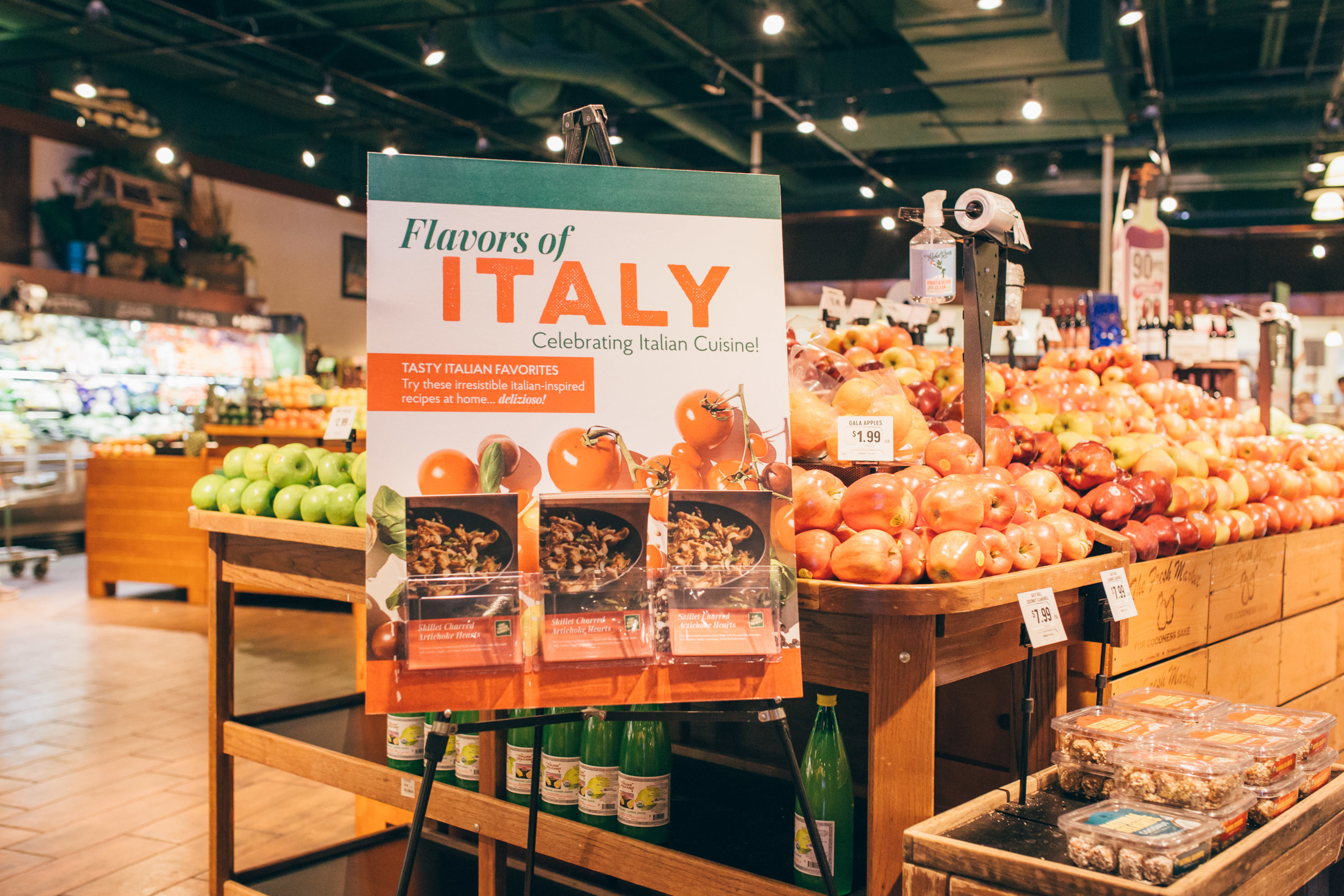 The Fresh Market - Flavors of Italy 2