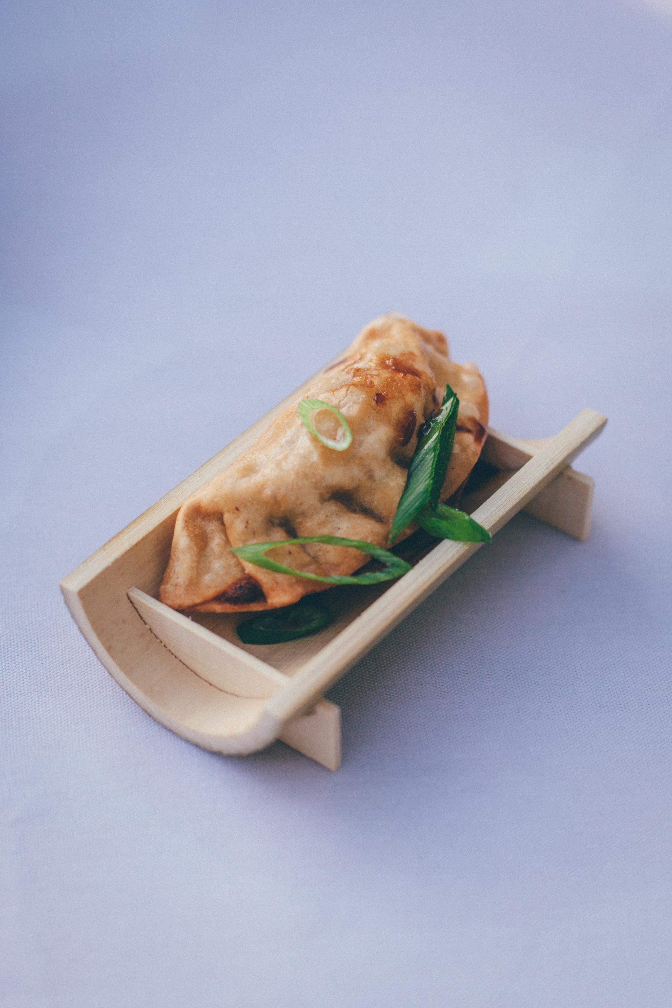 Fried Lemongrass Chicken Wonton