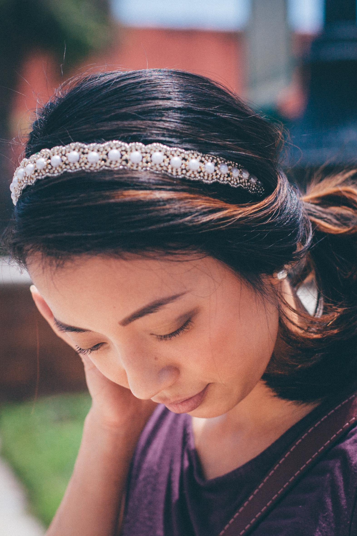 This Jenn Girl - Shein Floral Skirt 5 - Infinity Headbands