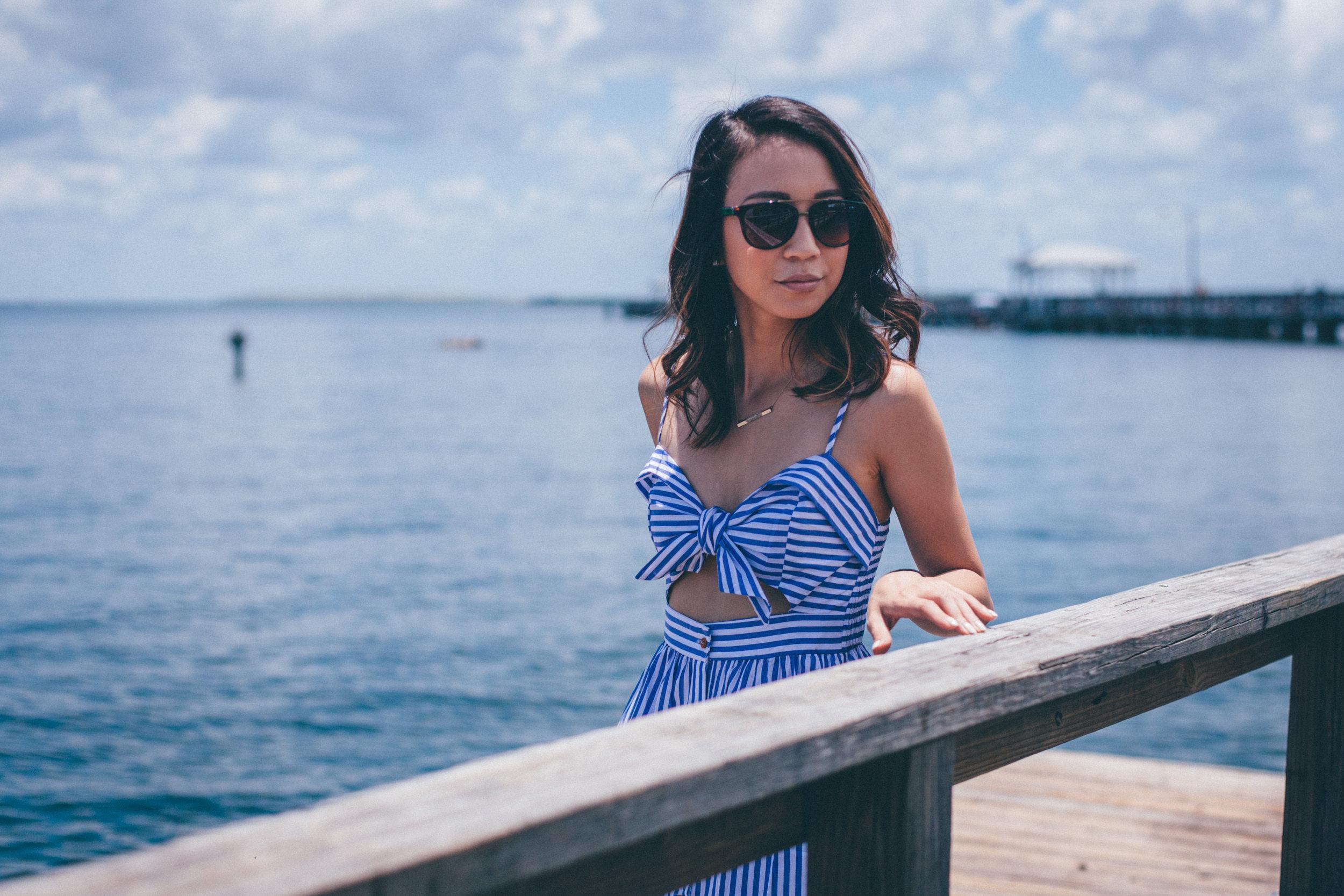 This Jenn Girl - Shein Bow Cutout Dress 2