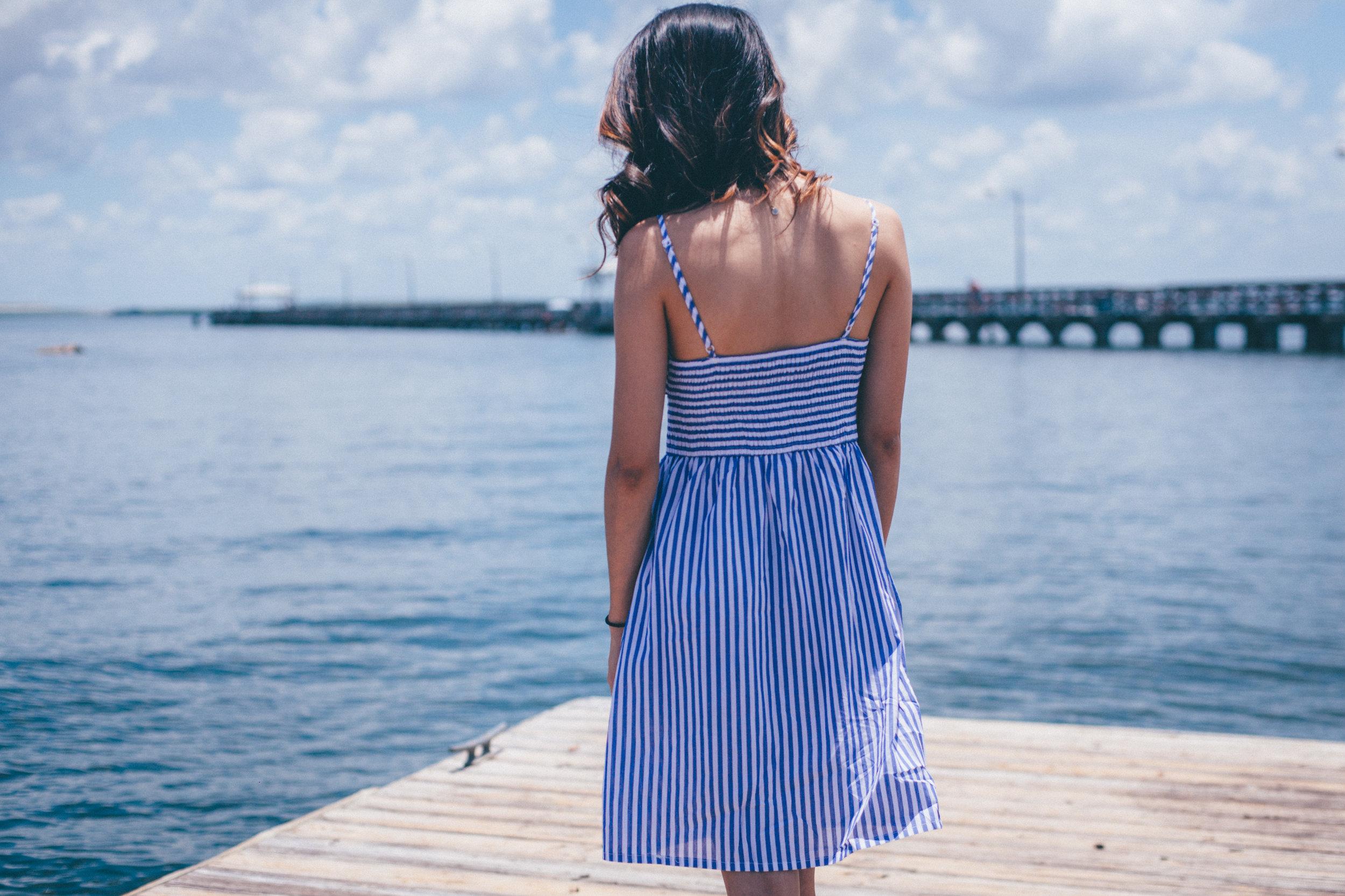 This Jenn Girl - Shein Bow Cutout Dress 3