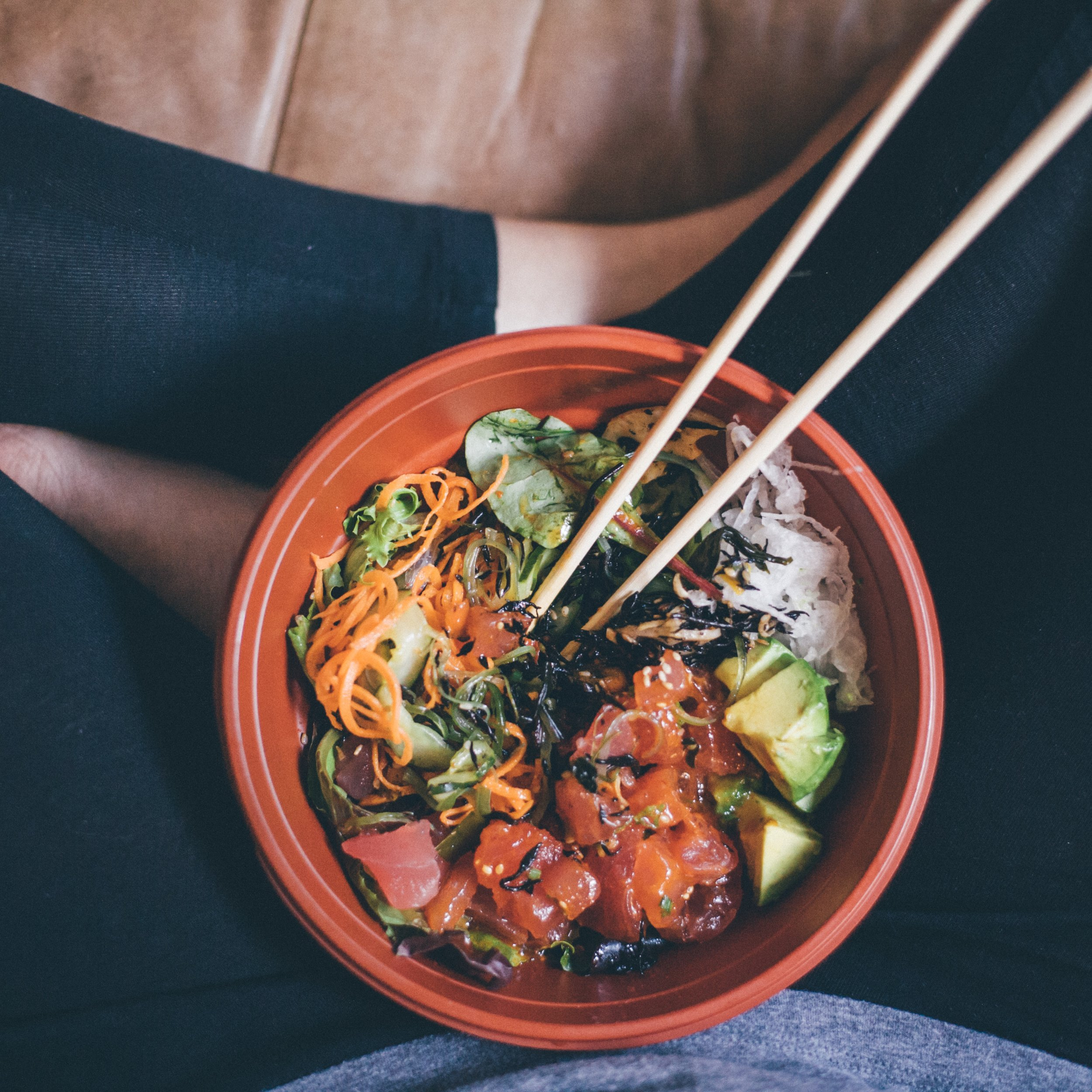 This Jenn Girl - Kelp Spicy Tuna Bowl