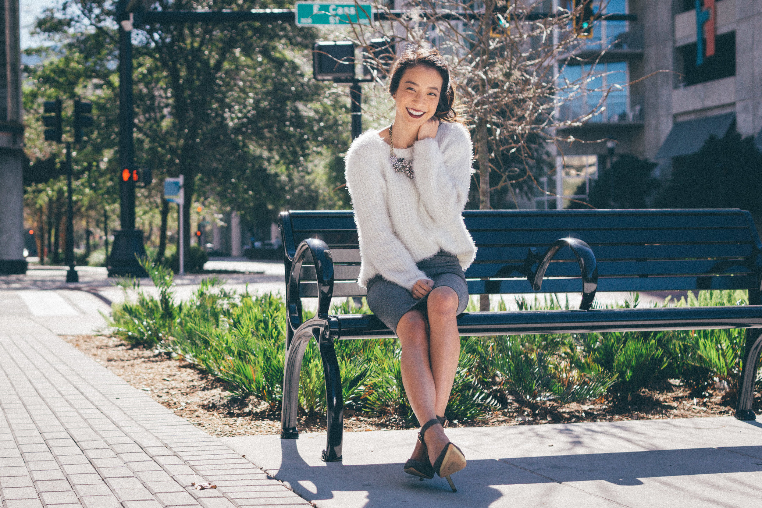 This Jenn Girl - Tampa Blogger - Fuzzy Sweater Outfit 3