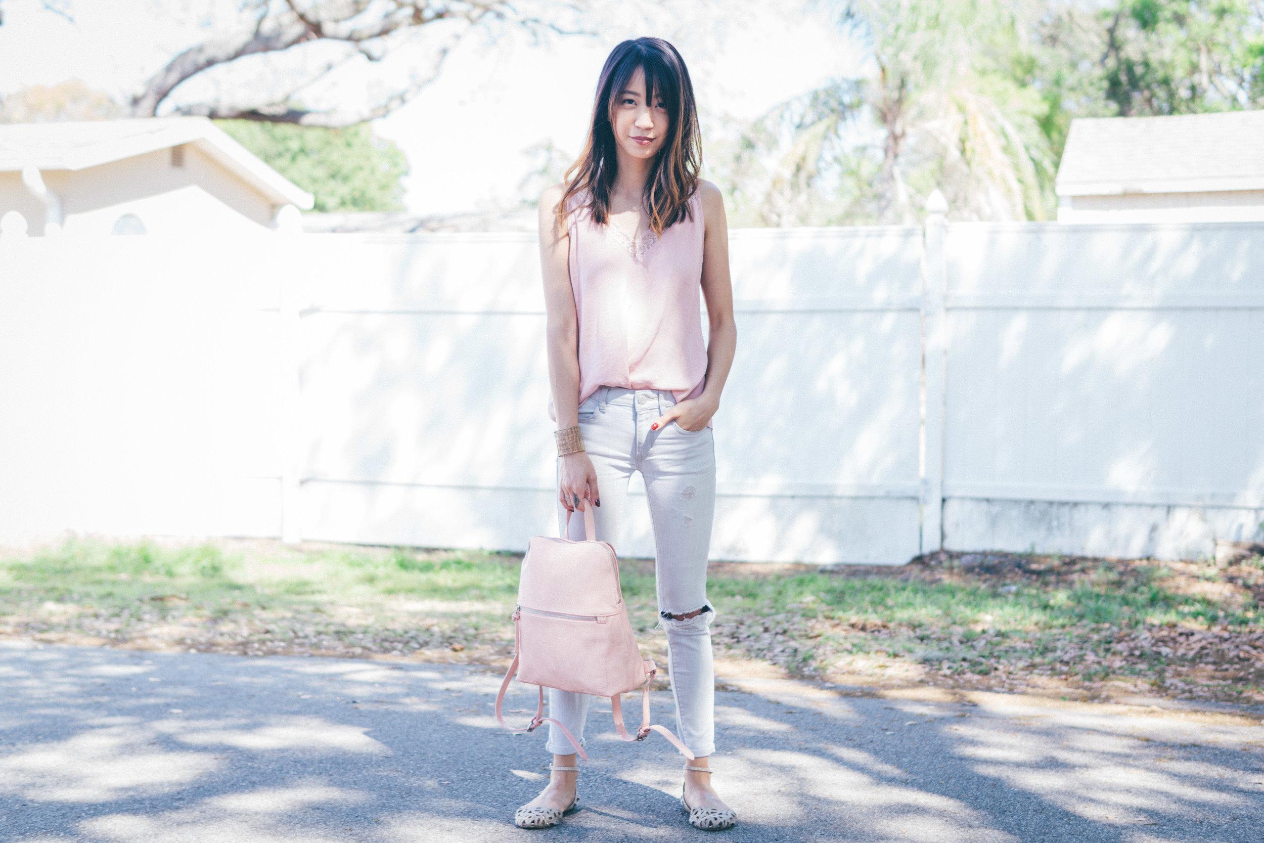 This Jenn Girl - Tampa Blogger - Target Backpack 1