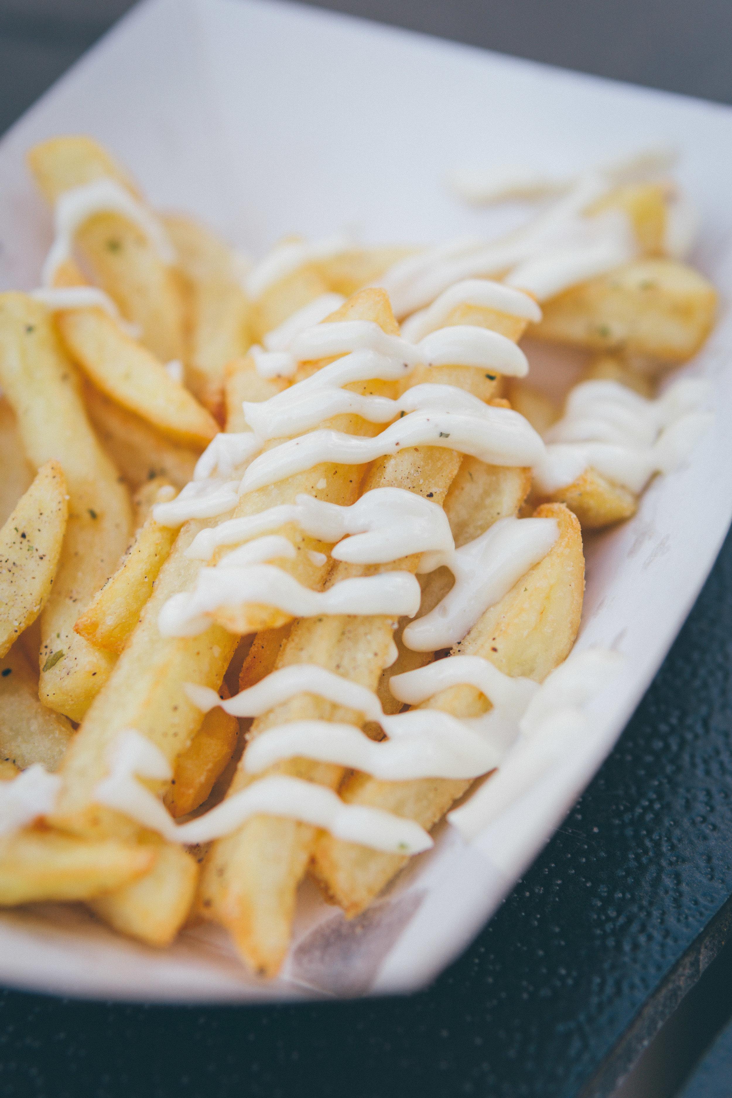23) Artisan Eats: Duck Fat Truffle Fries with Parmesan Truffle Aioli