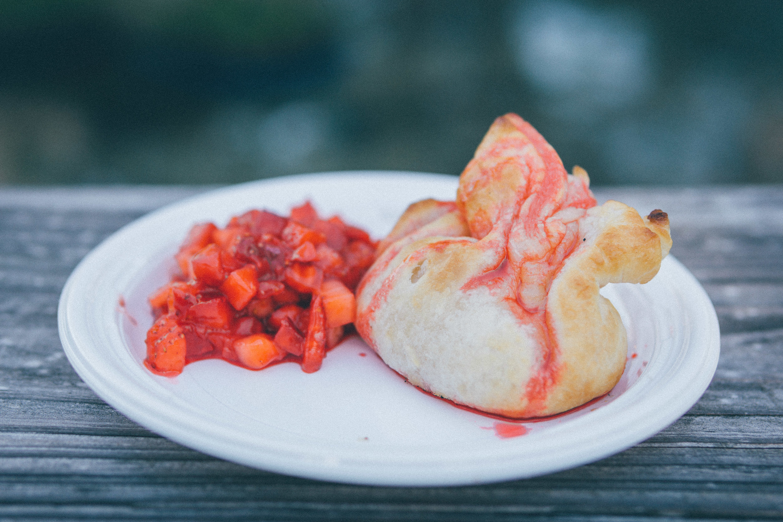 Cooking with Coke Pavilion: Baked Brie with Strawberry Fanta Coulis