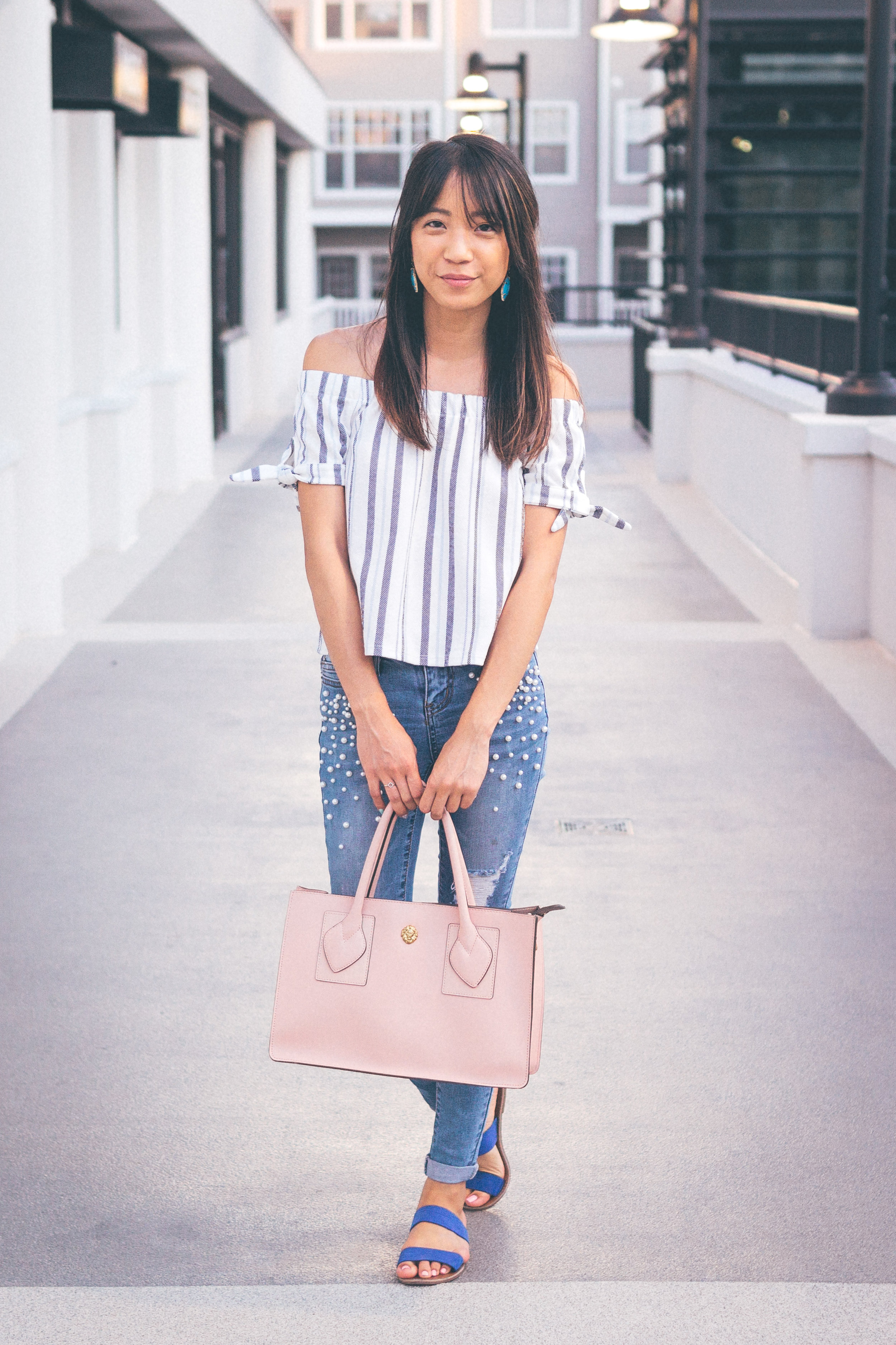 This Jenn Girl - Tampa Blogger - Pearlized Jeans 3