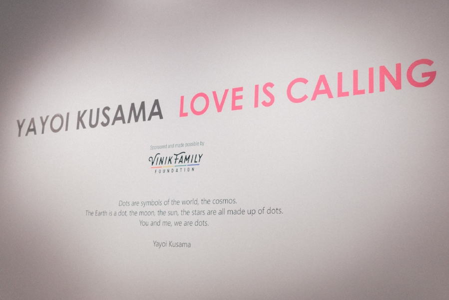 This Jenn Girl - Tampa Blogger - Yayoi Kusama LOVE IS CALLING 1