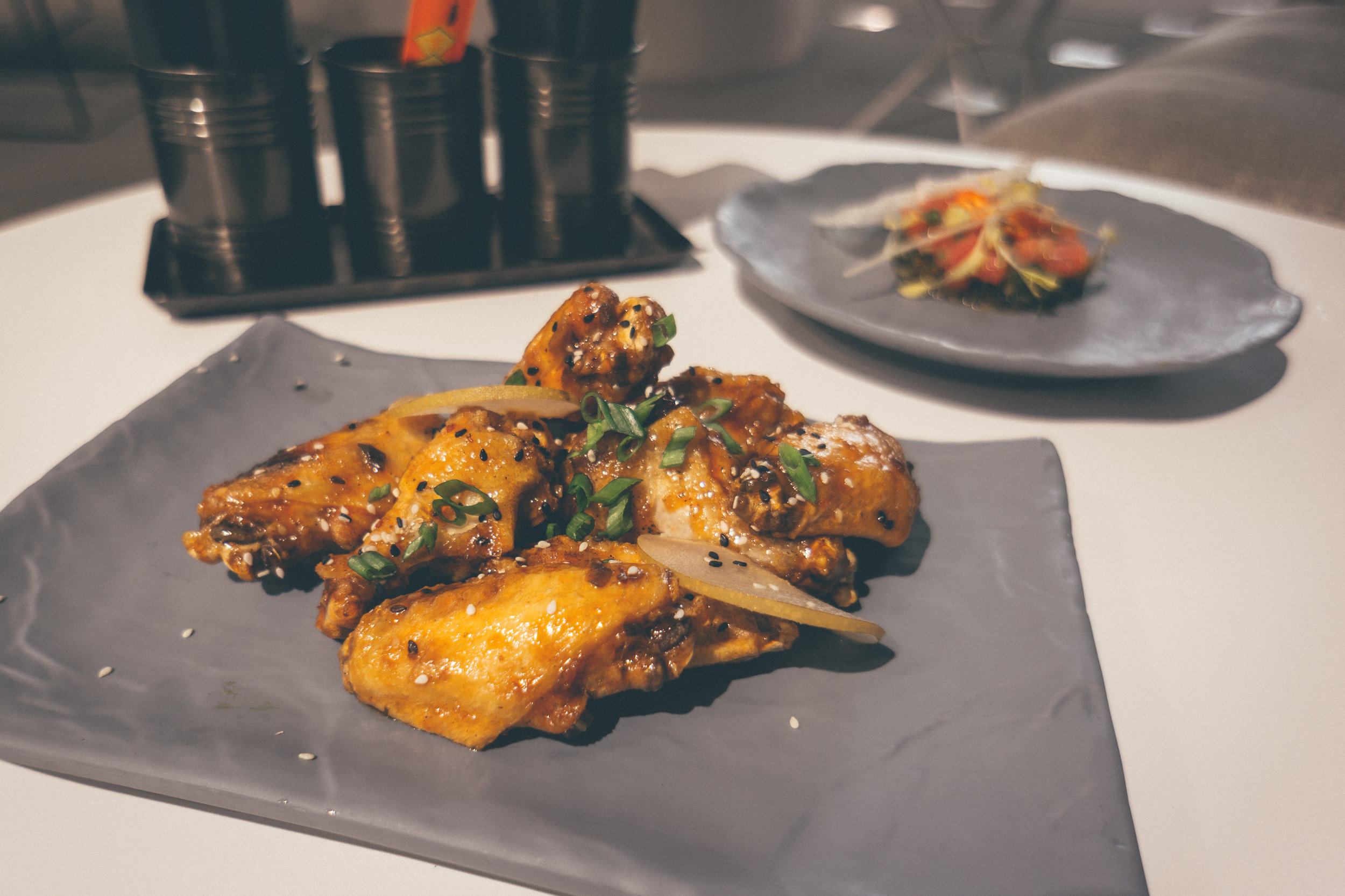 Chili Glazed Wings